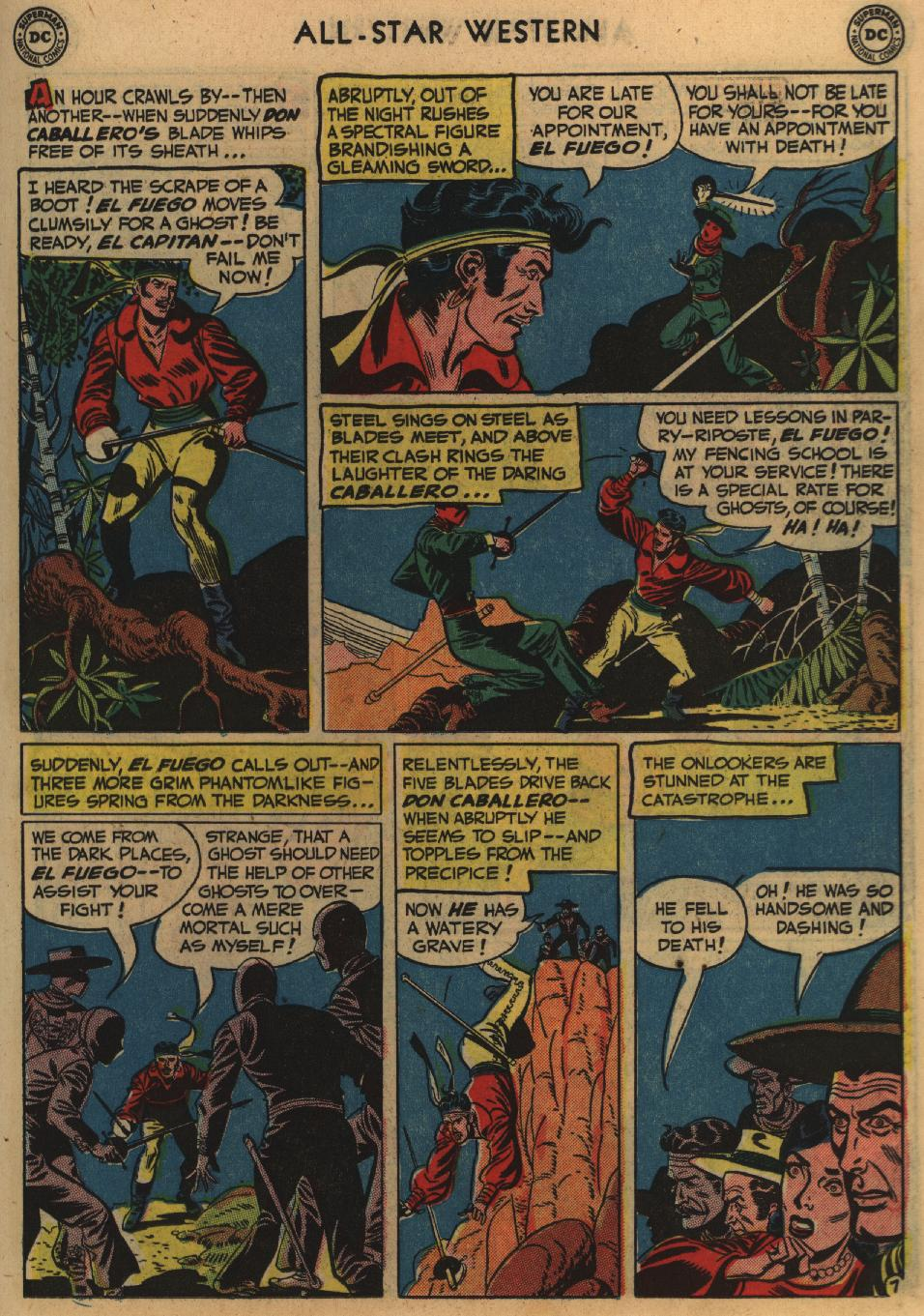 Read online All-Star Western (1951) comic -  Issue #60 - 21