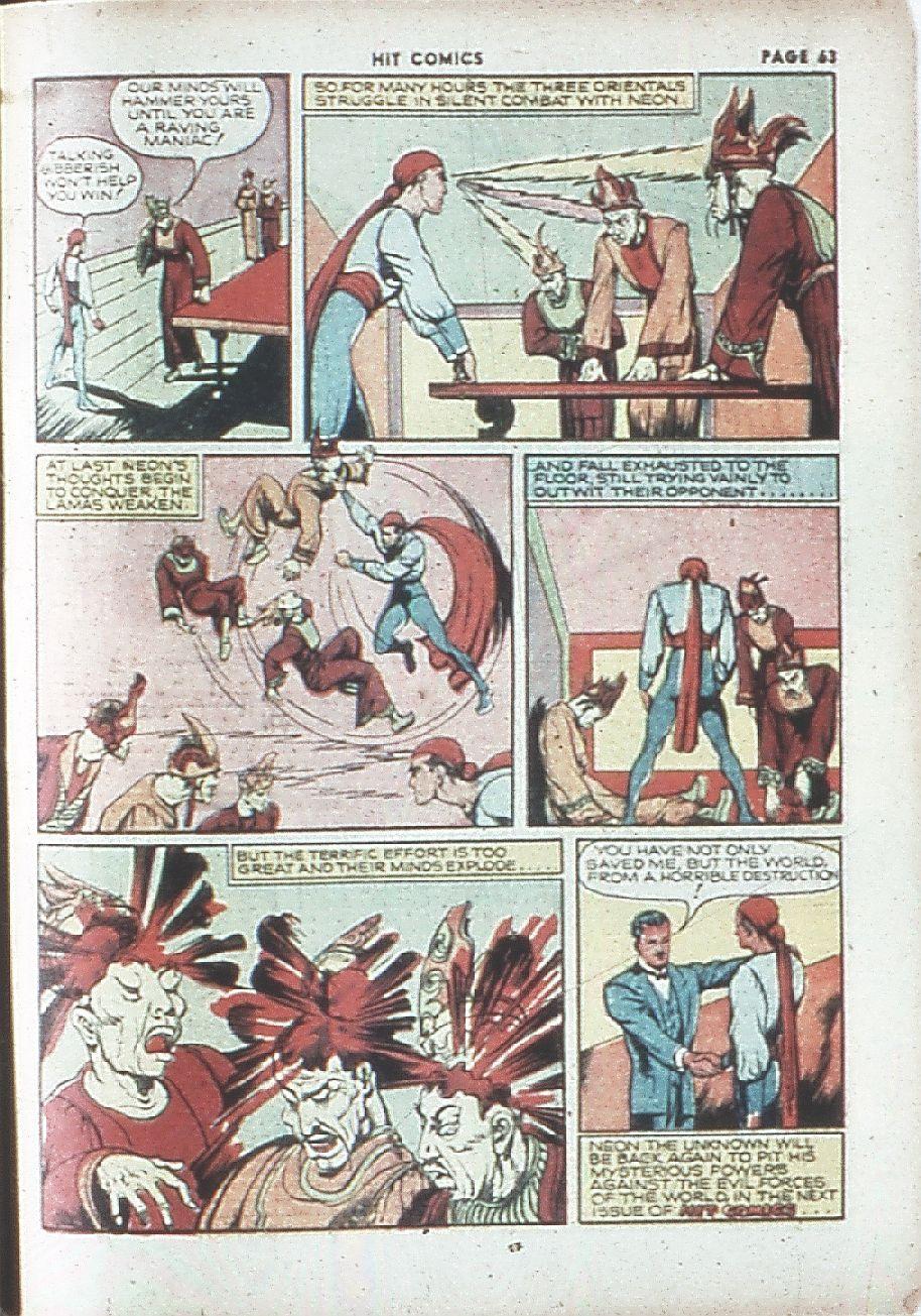 Read online Hit Comics comic -  Issue #7 - 65