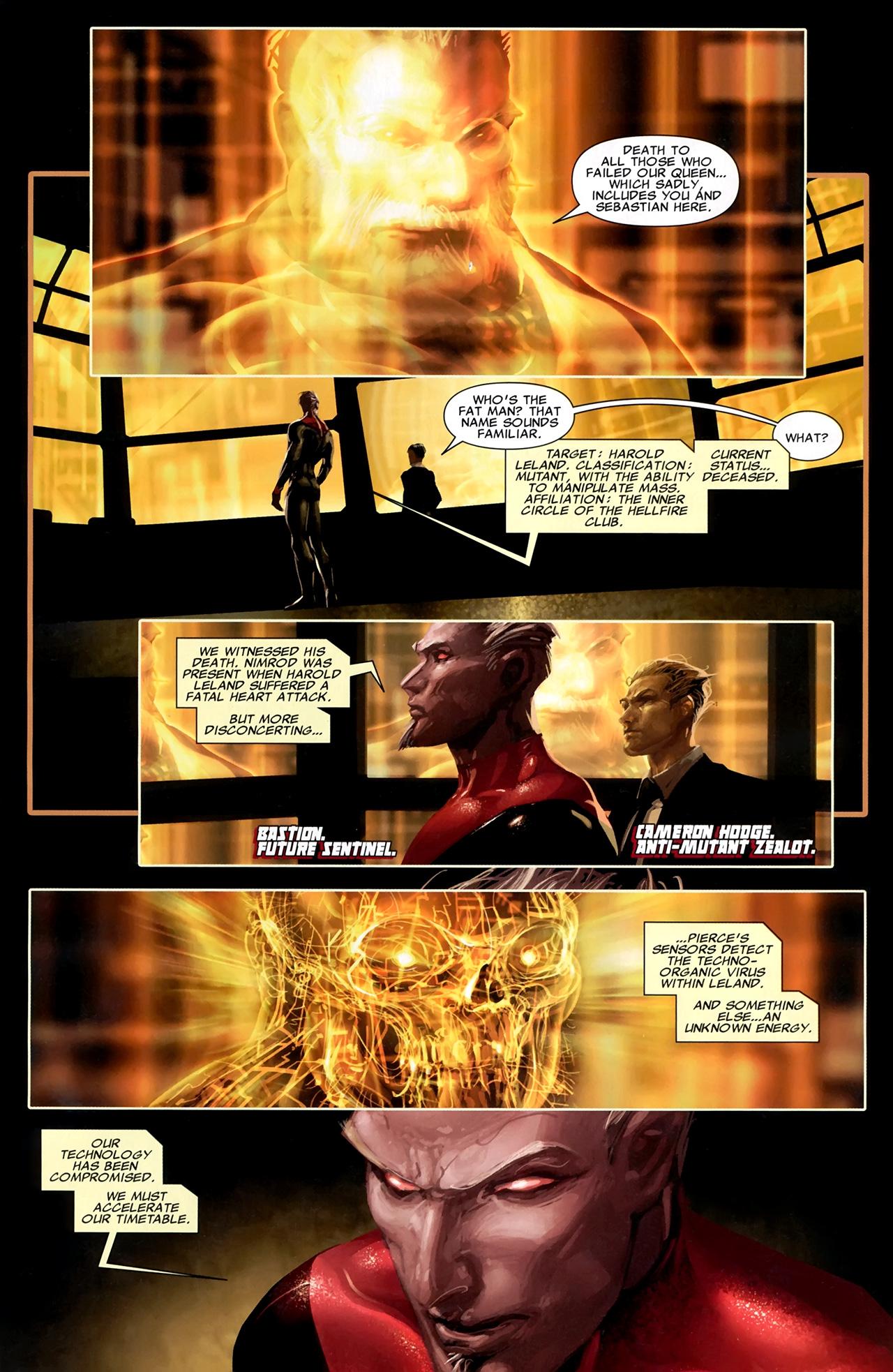 Read online X Necrosha comic -  Issue # Full - 12