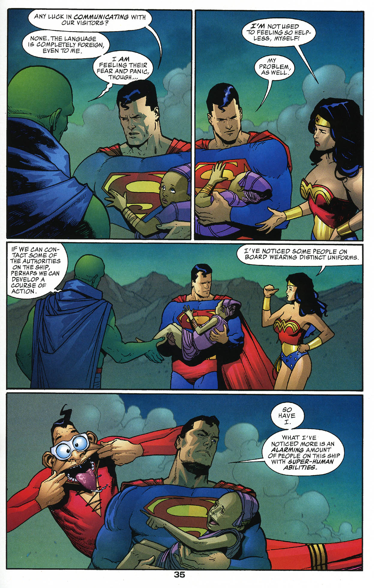 Read online JLA/Haven: Arrival comic -  Issue # Full - 34