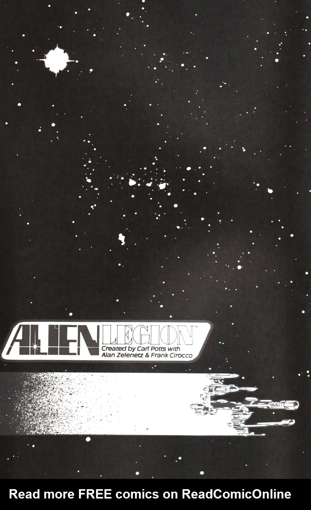 Alien Legion: On the Edge issue 3 - Page 1