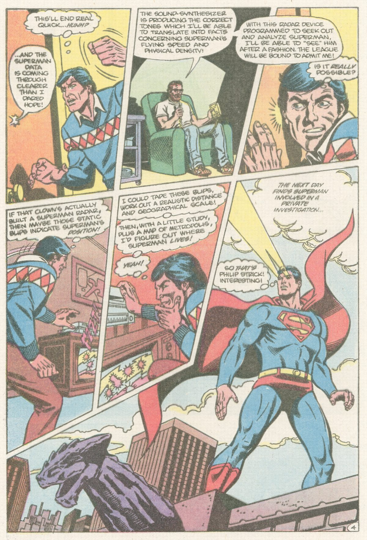 Read online Action Comics (1938) comic -  Issue #567 - 23