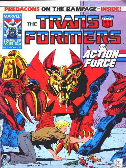 The Transformers (UK) 155 Page 1
