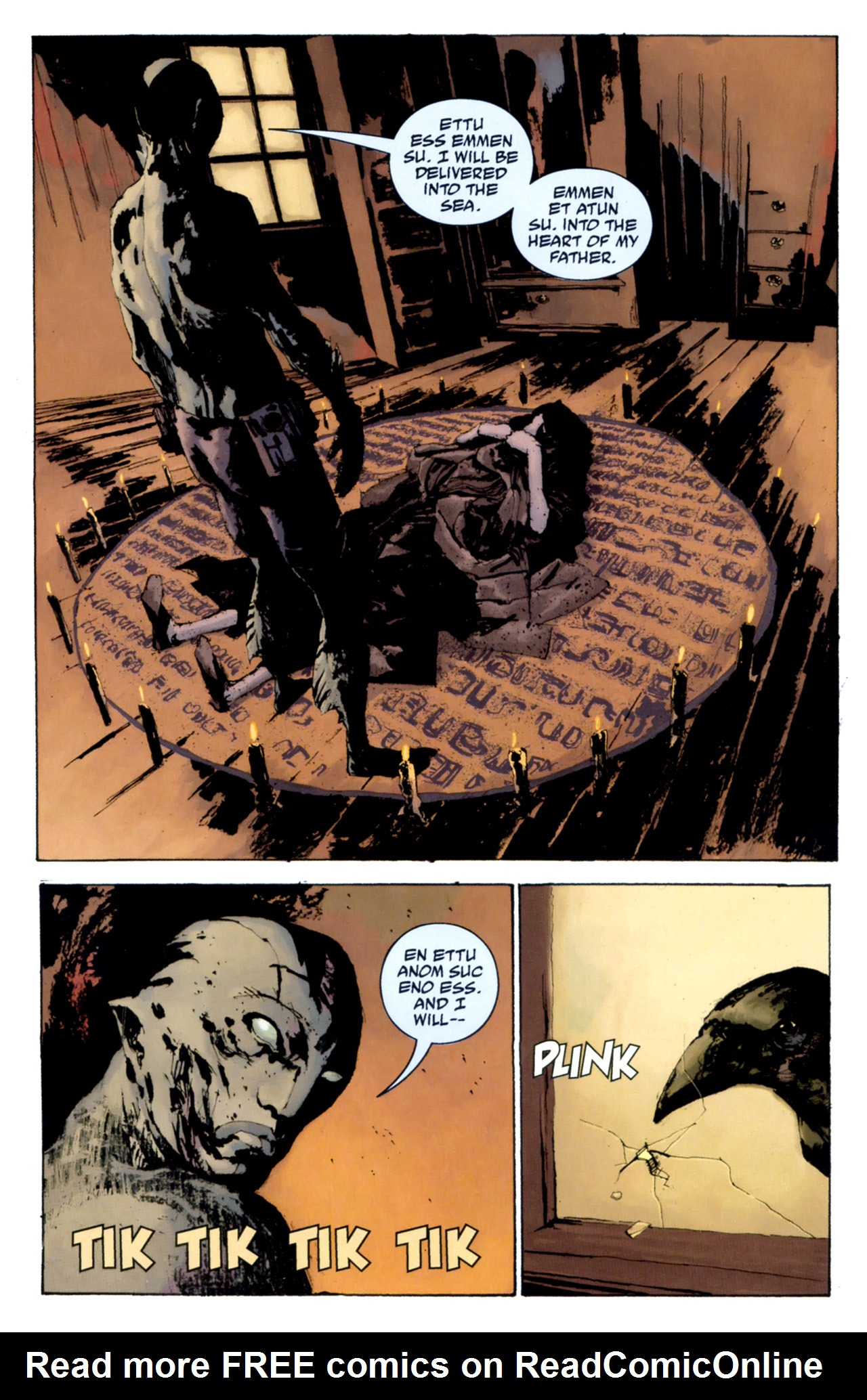 Read online Abe Sapien: The Drowning comic -  Issue #4 - 4