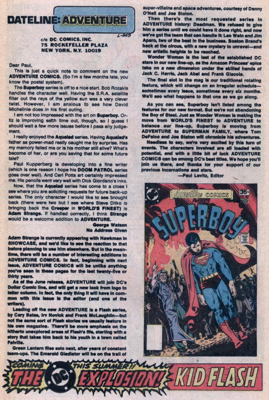 Read online Adventure Comics (1938) comic -  Issue #458 - 13