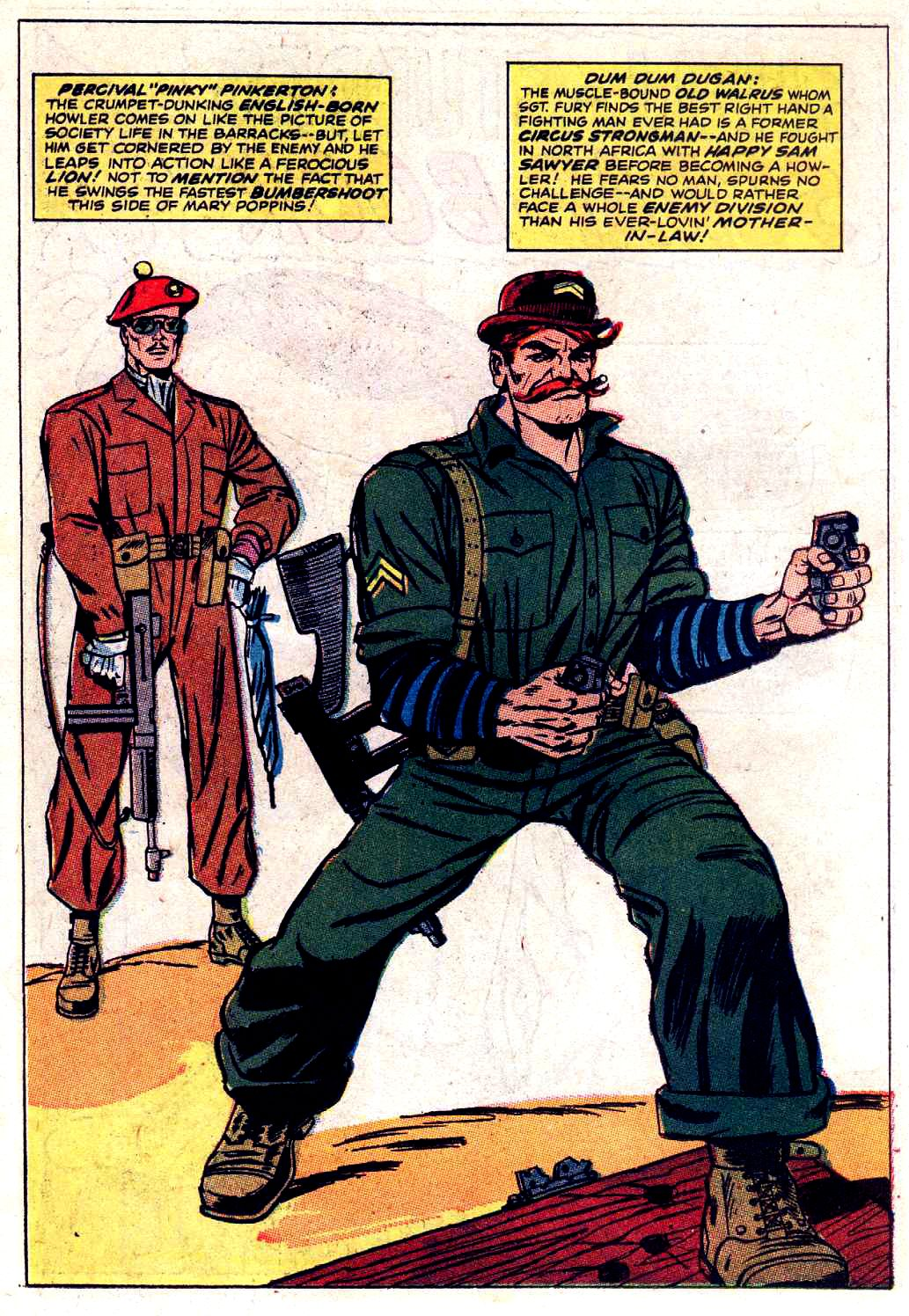 Read online Sgt. Fury comic -  Issue # _Special 3 - 54