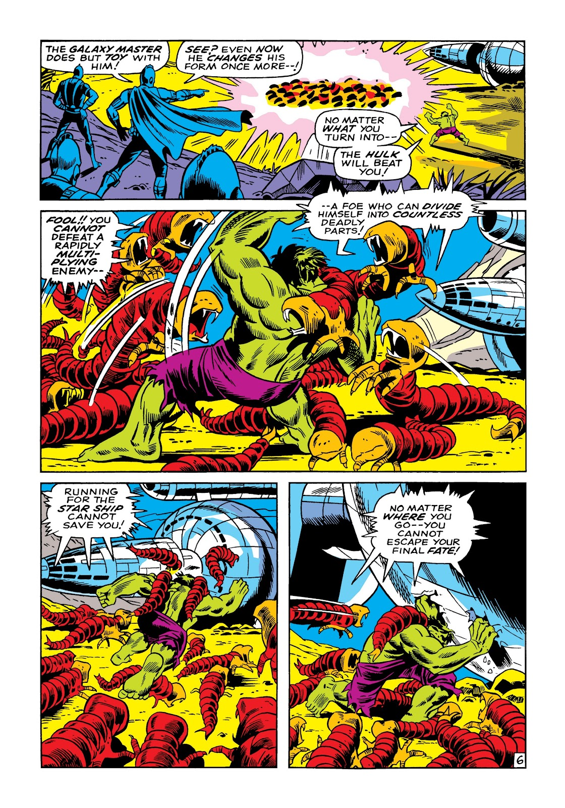 Read online Marvel Masterworks: The Incredible Hulk comic -  Issue # TPB 5 (Part 1) - 33