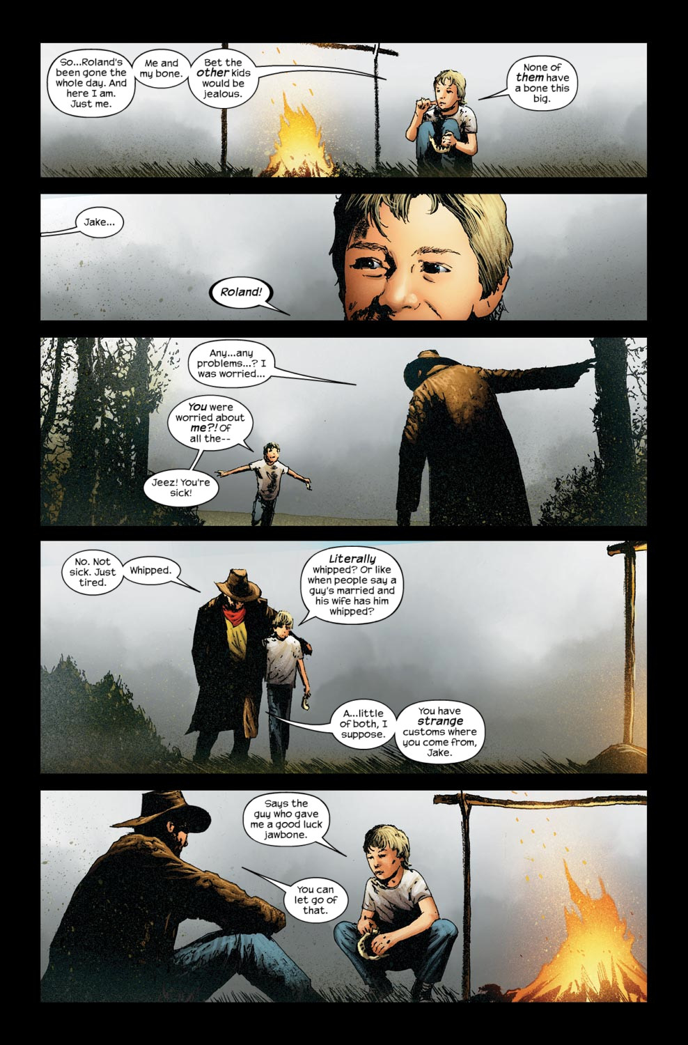 Read online Dark Tower: The Gunslinger - The Way Station comic -  Issue #5 - 17