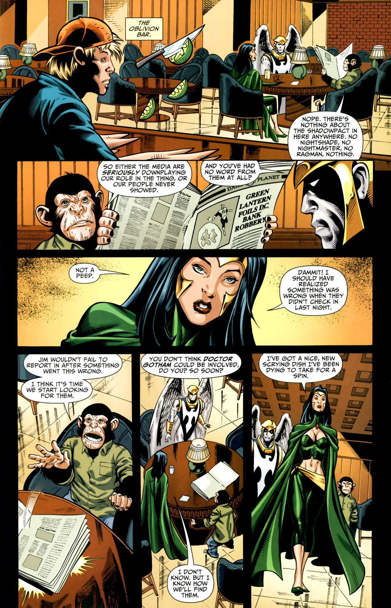 Read online Shadowpact comic -  Issue #18 - 18