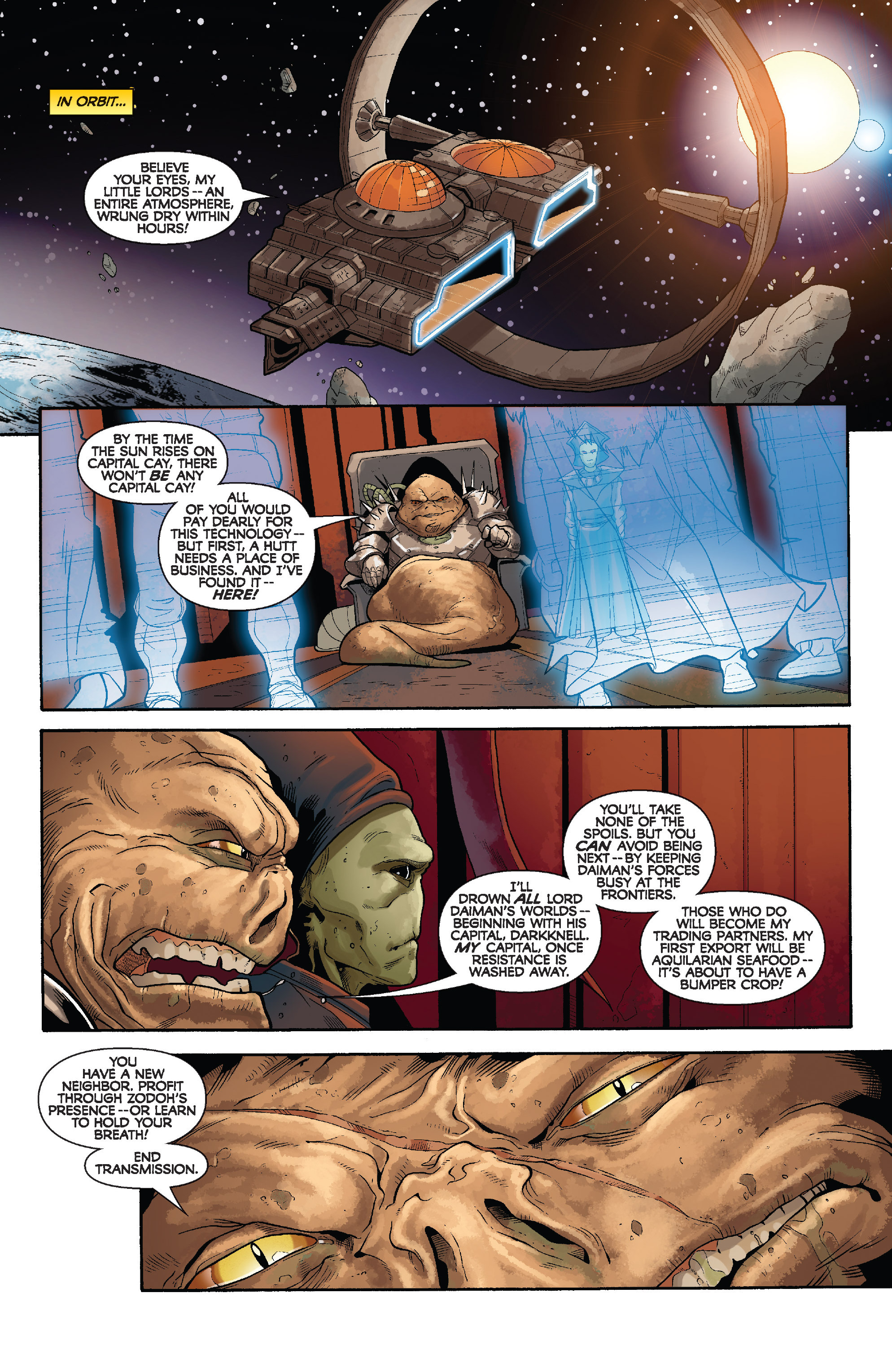Read online Star Wars: Knight Errant - Deluge comic -  Issue #4 - 10