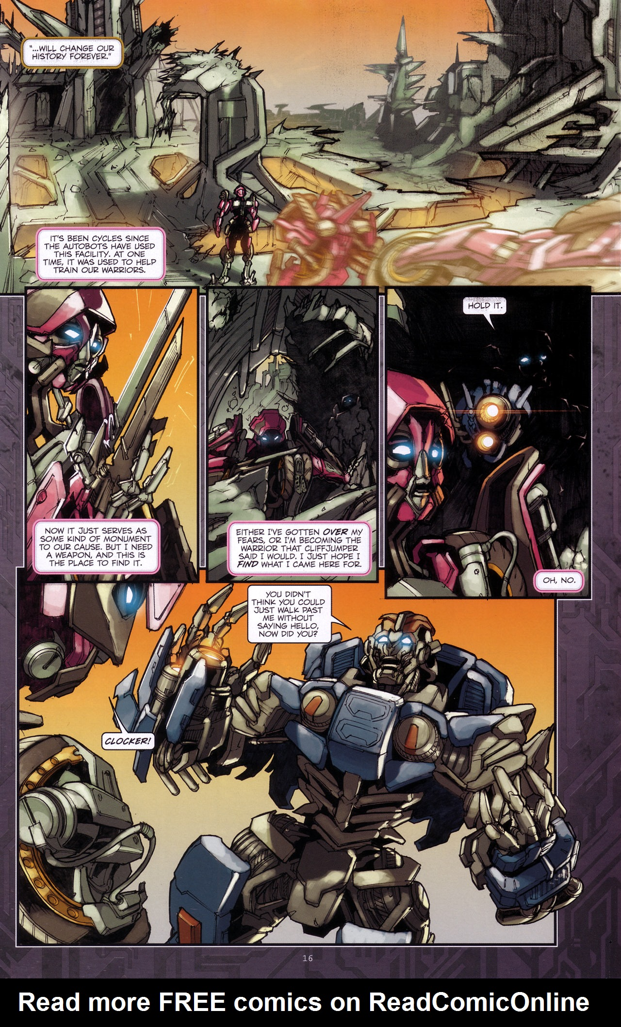 Read online Transformers: The Reign of Starscream comic -  Issue #4 - 18