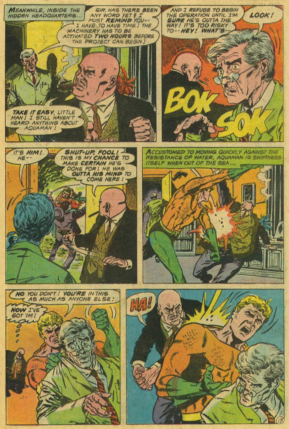 Aquaman (1962) issue 45 - Page 17