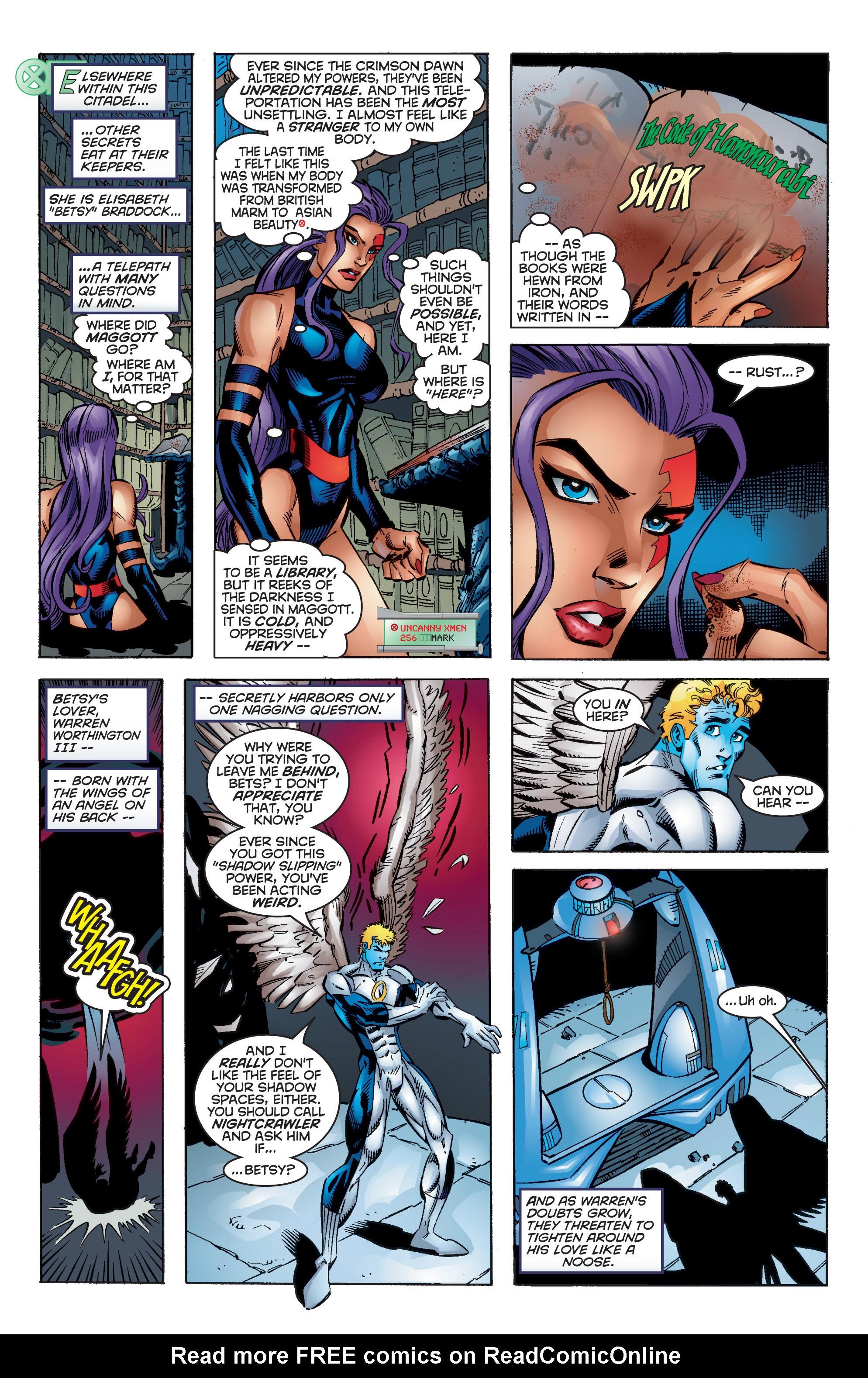 Read online Uncanny X-Men (1963) comic -  Issue #350 - 17