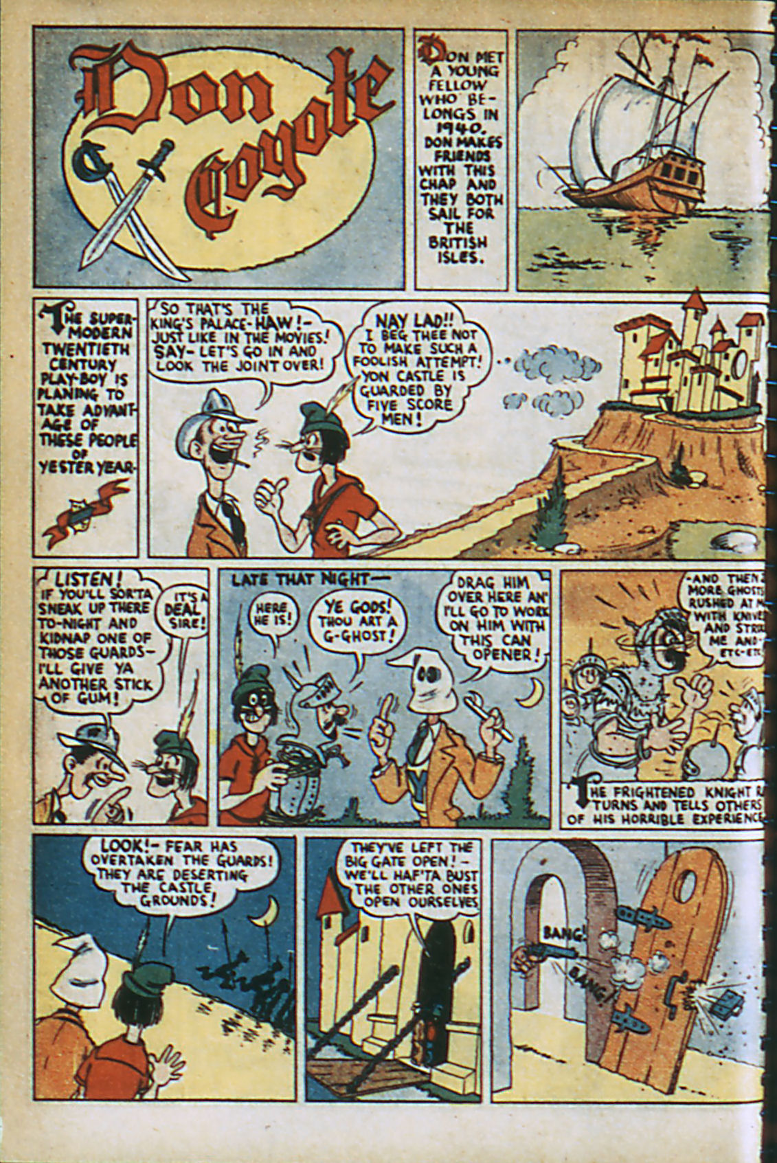 Read online Adventure Comics (1938) comic -  Issue #37 - 27