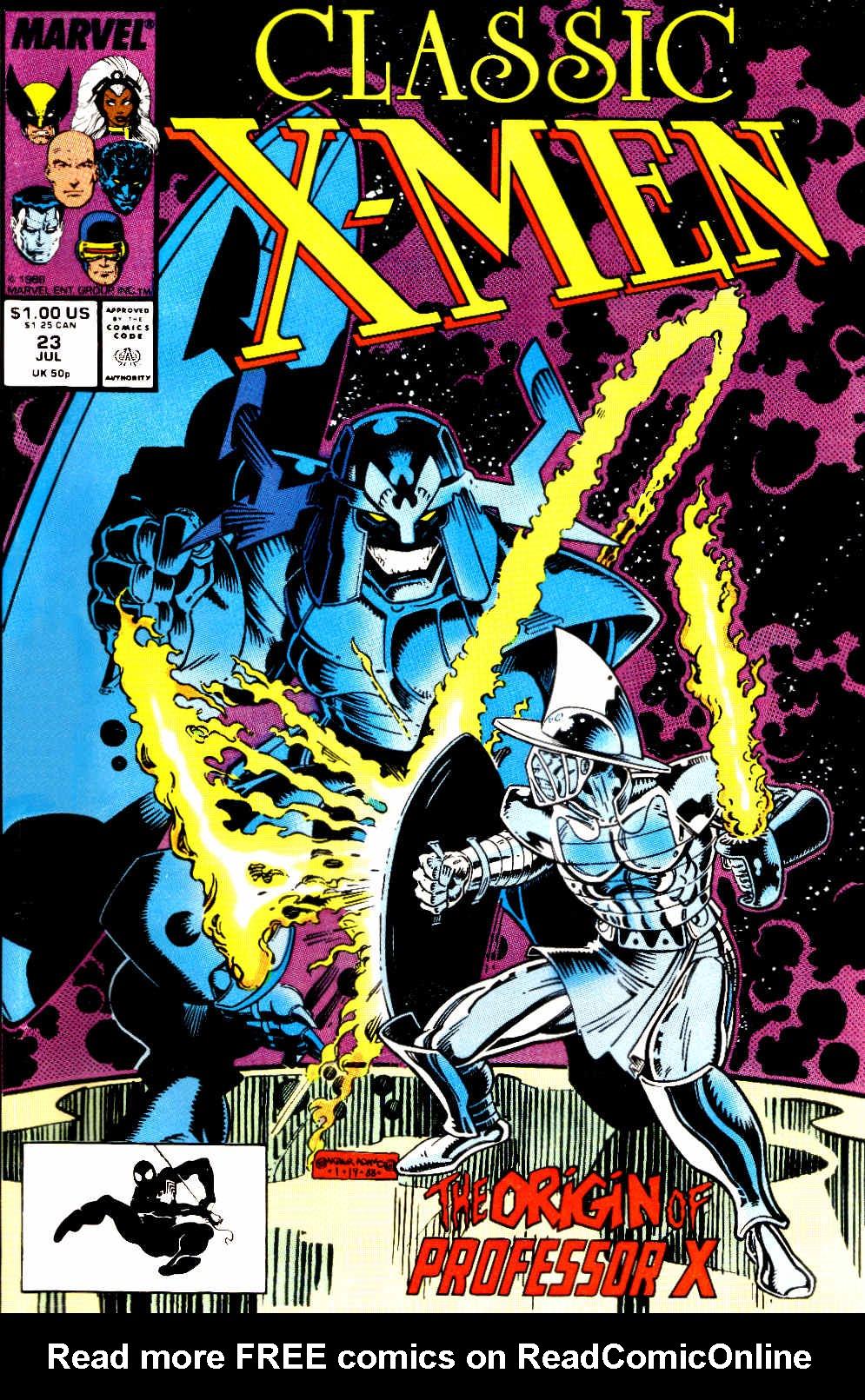 Classic X-Men 23 Page 1