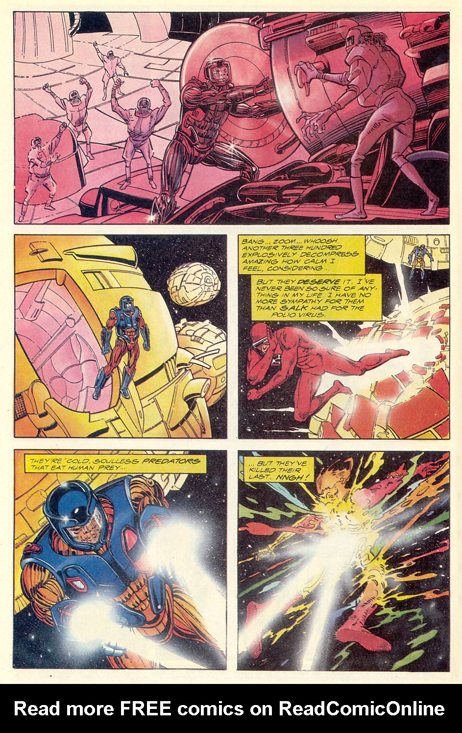 Read online Solar, Man of the Atom comic -  Issue #7 - 6