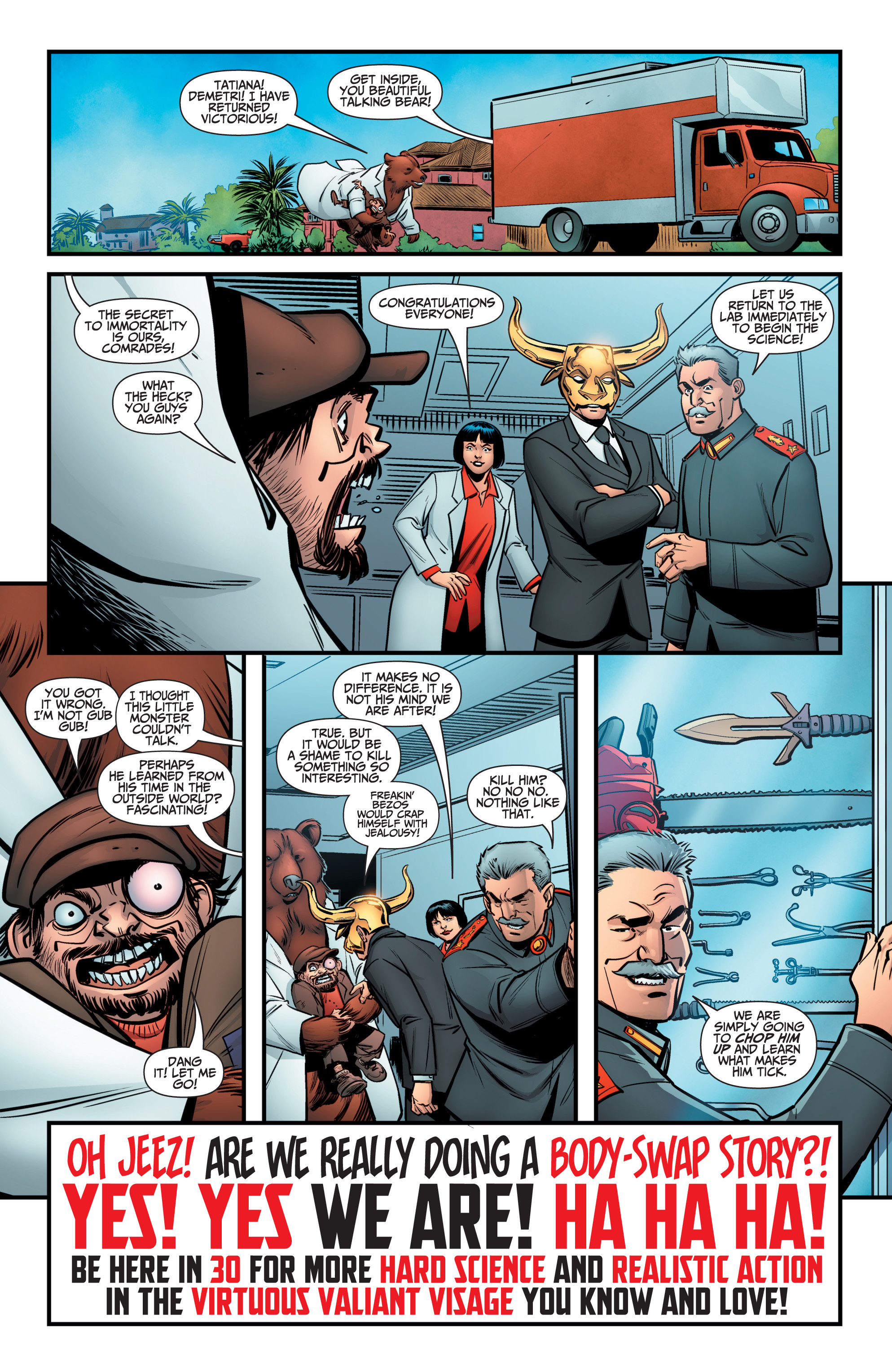 Read online A&A: The Adventures of Archer & Armstrong comic -  Issue #10 - 24