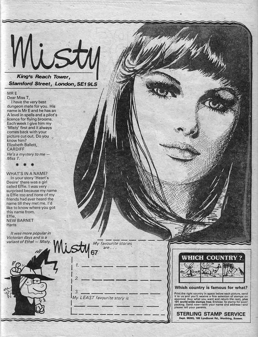 Read online Misty comic -  Issue #67 - 27