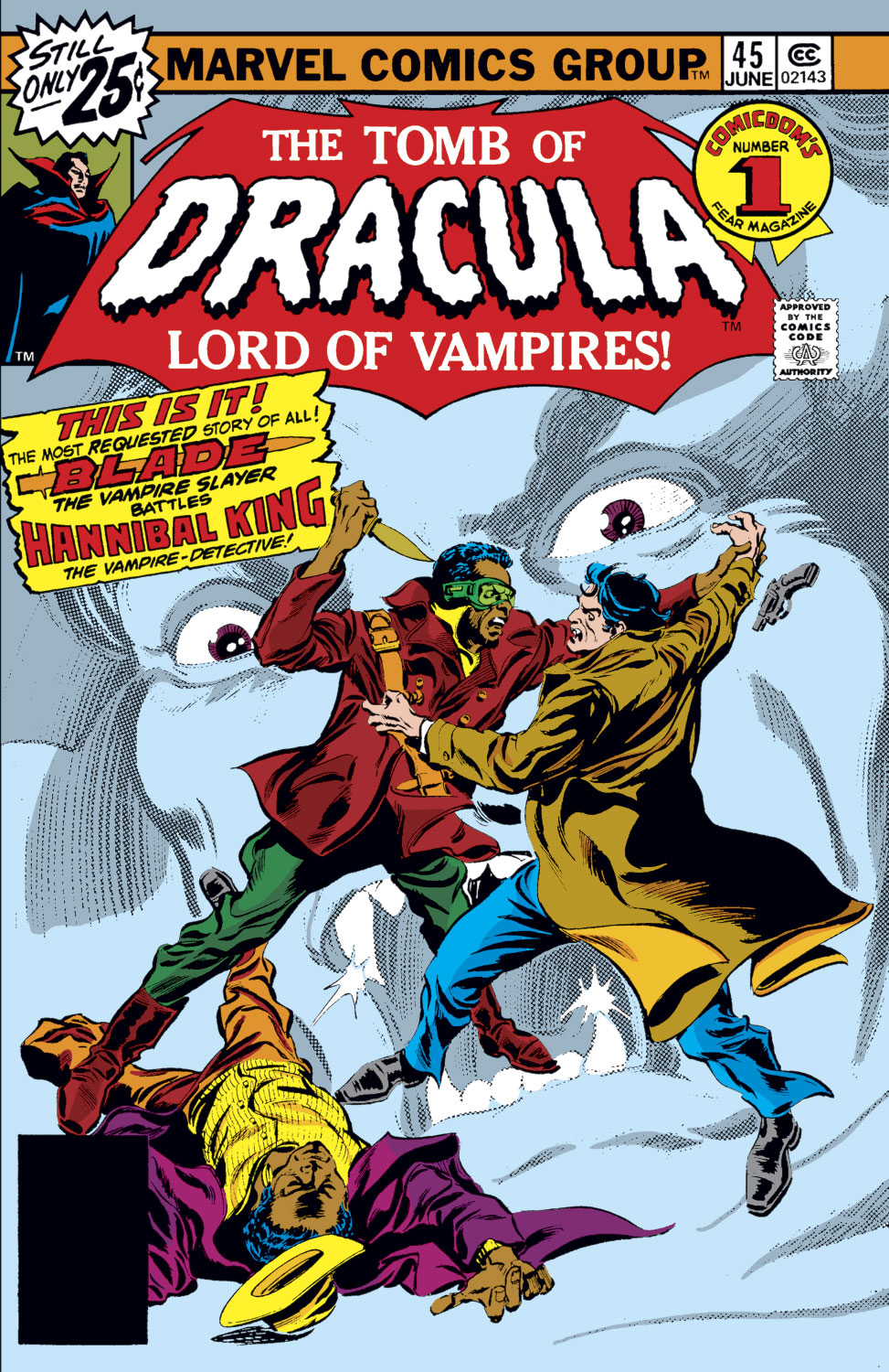 Tomb of Dracula (1972) issue 45 - Page 1