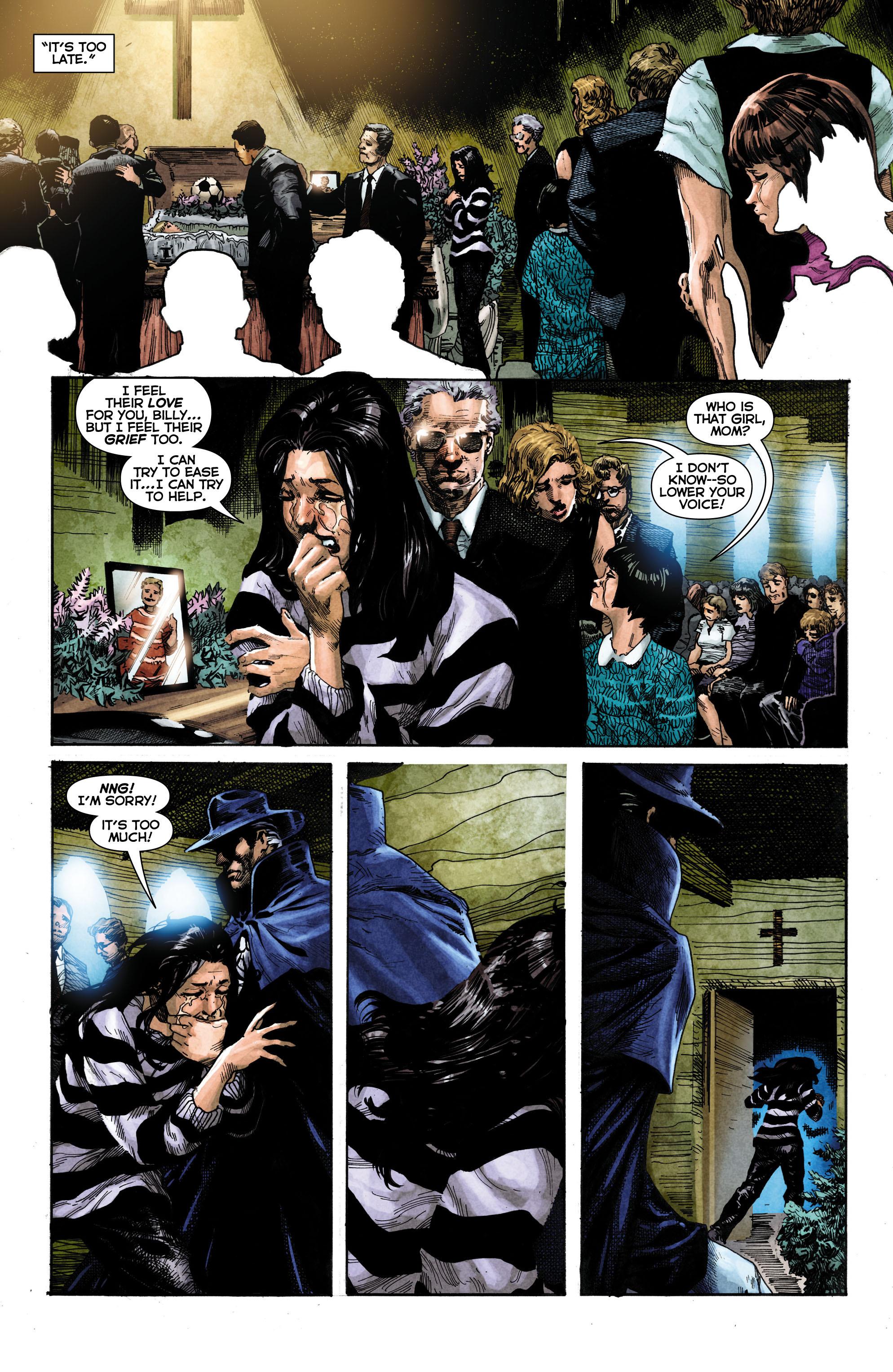 Read online Trinity of Sin: The Phantom Stranger comic -  Issue #1 - 5