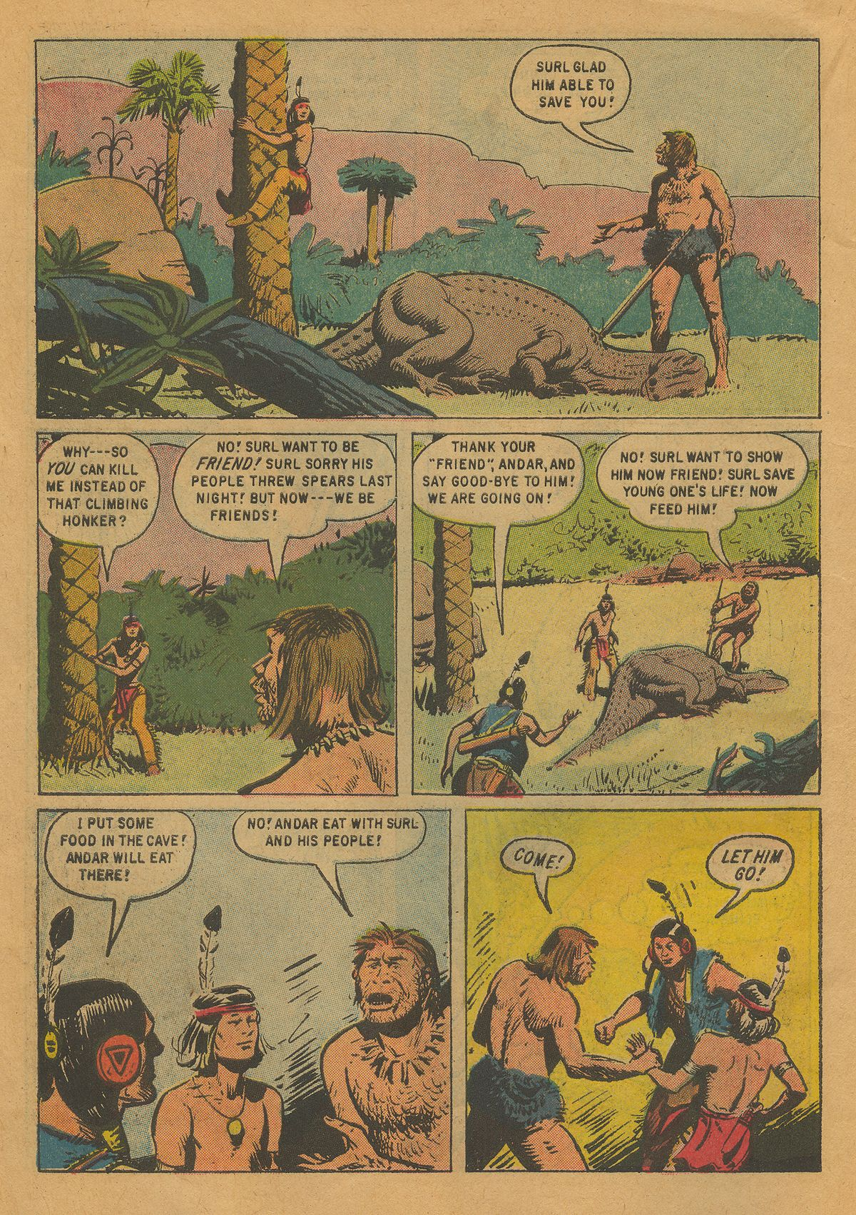 Read online Turok, Son of Stone comic -  Issue #22 - 10
