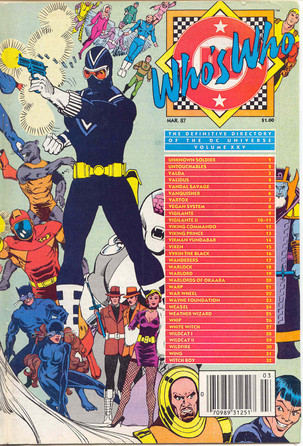 Whos Who: The Definitive Directory of the DC Universe 25 Page 1