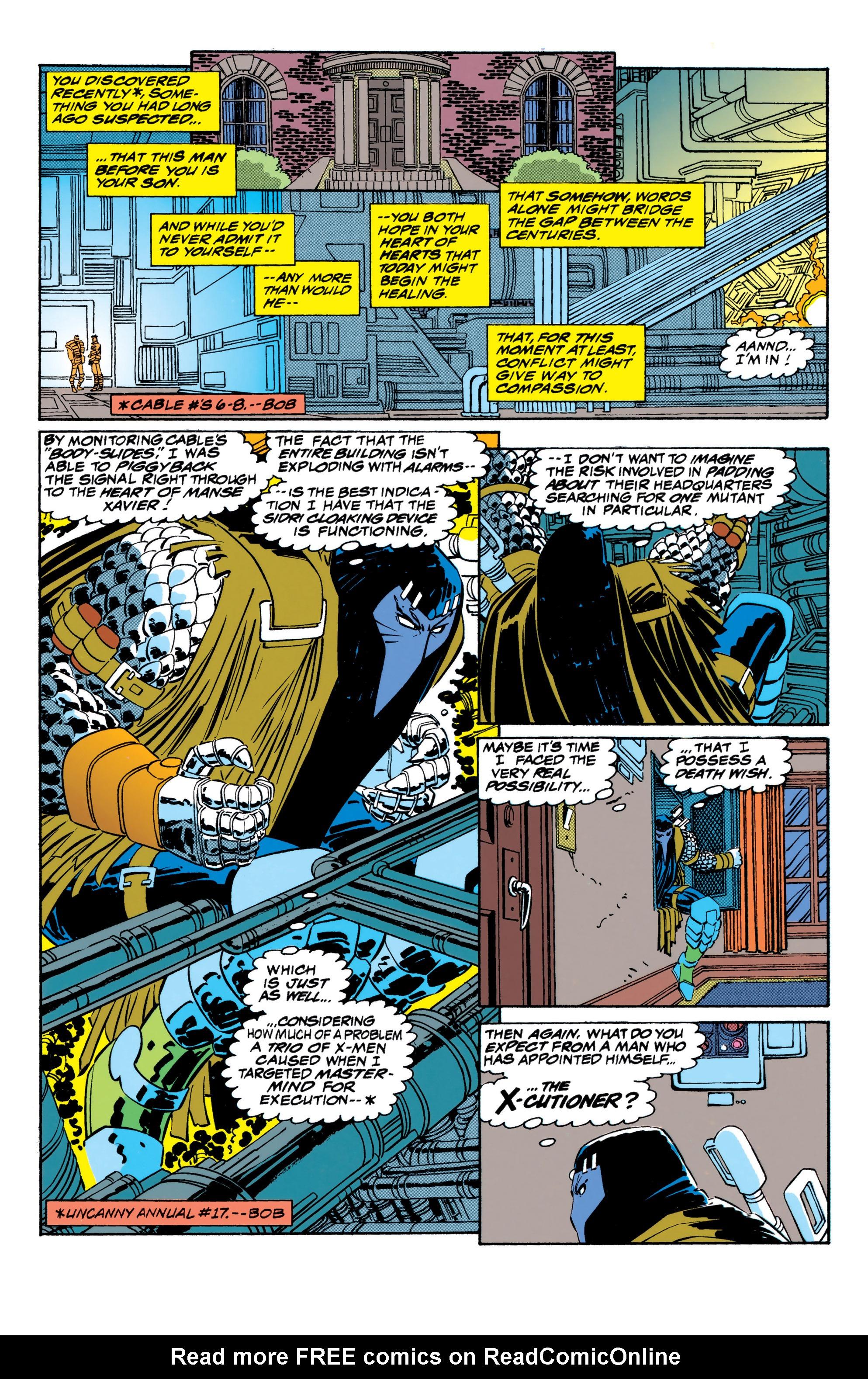 Read online Uncanny X-Men (1963) comic -  Issue #310 - 7