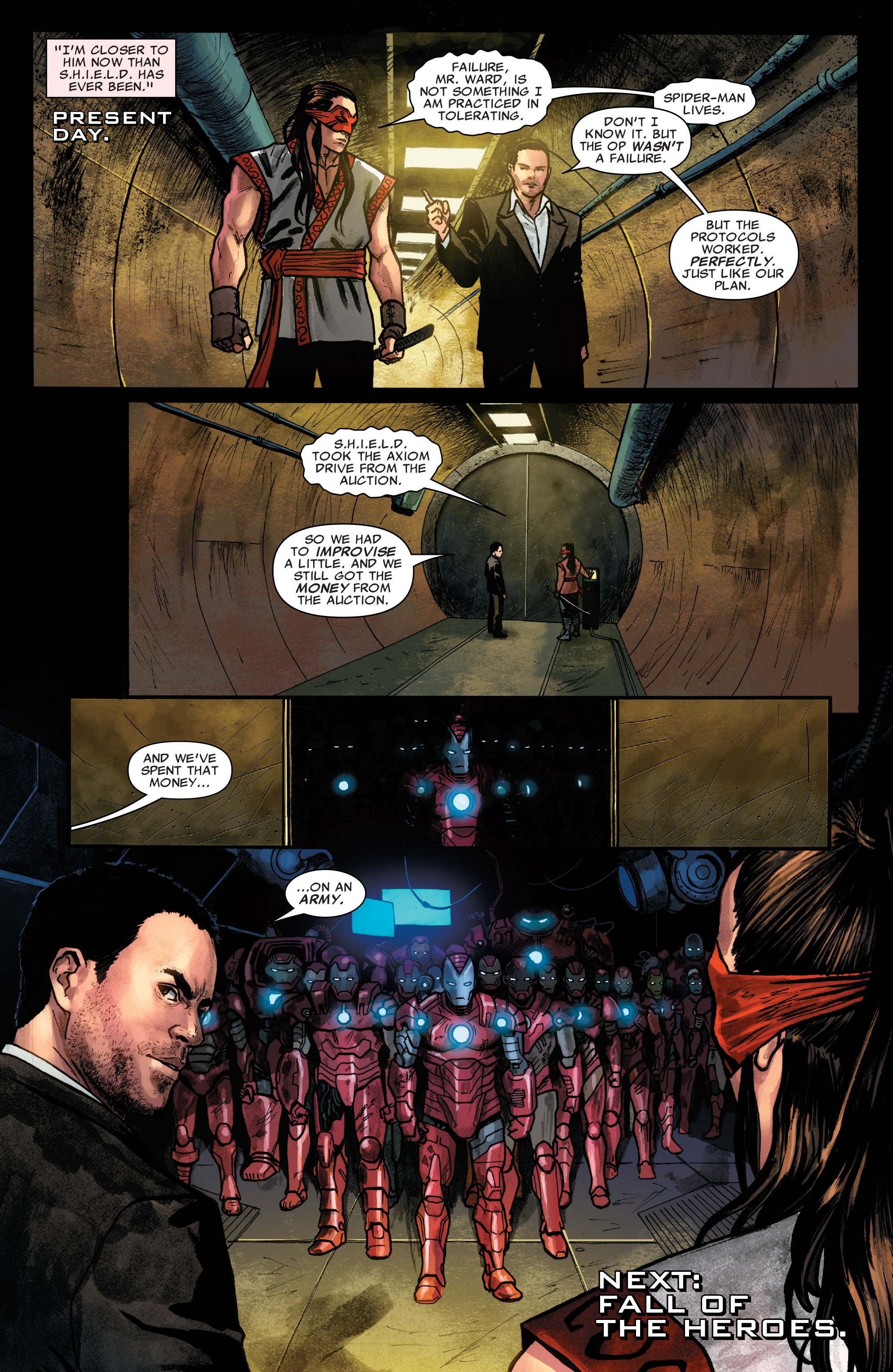 Read online Agents of S.H.I.E.L.D. comic -  Issue #5 - 21