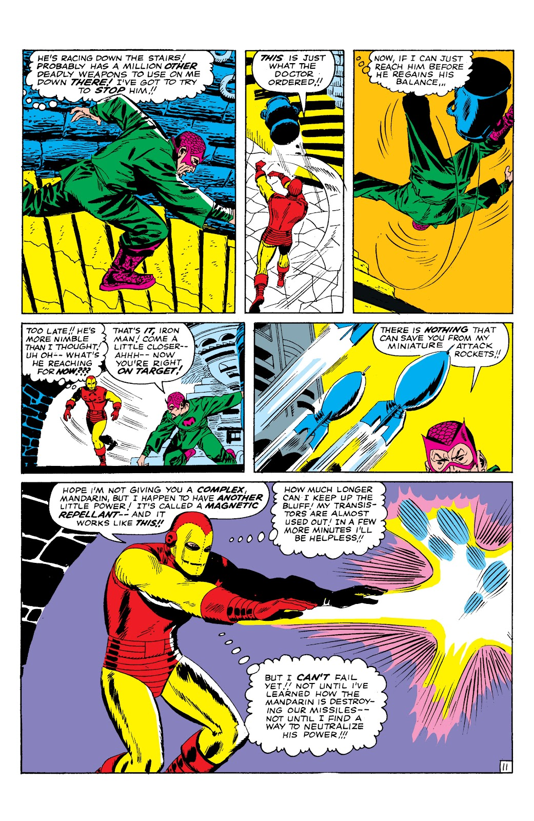 Read online Marvel Masterworks: The Invincible Iron Man comic -  Issue # TPB 2 (Part 1) - 57