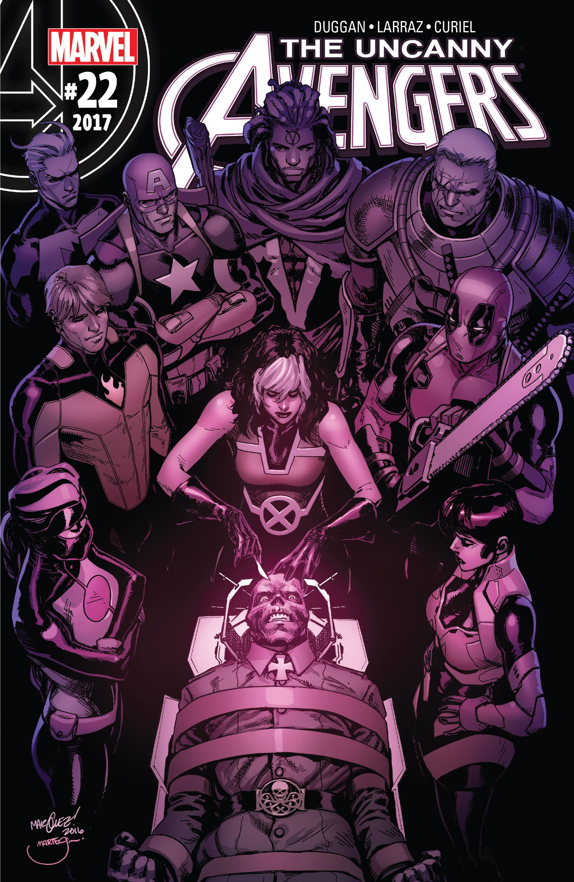 Read online Uncanny Avengers [II] comic -  Issue #22 - 1