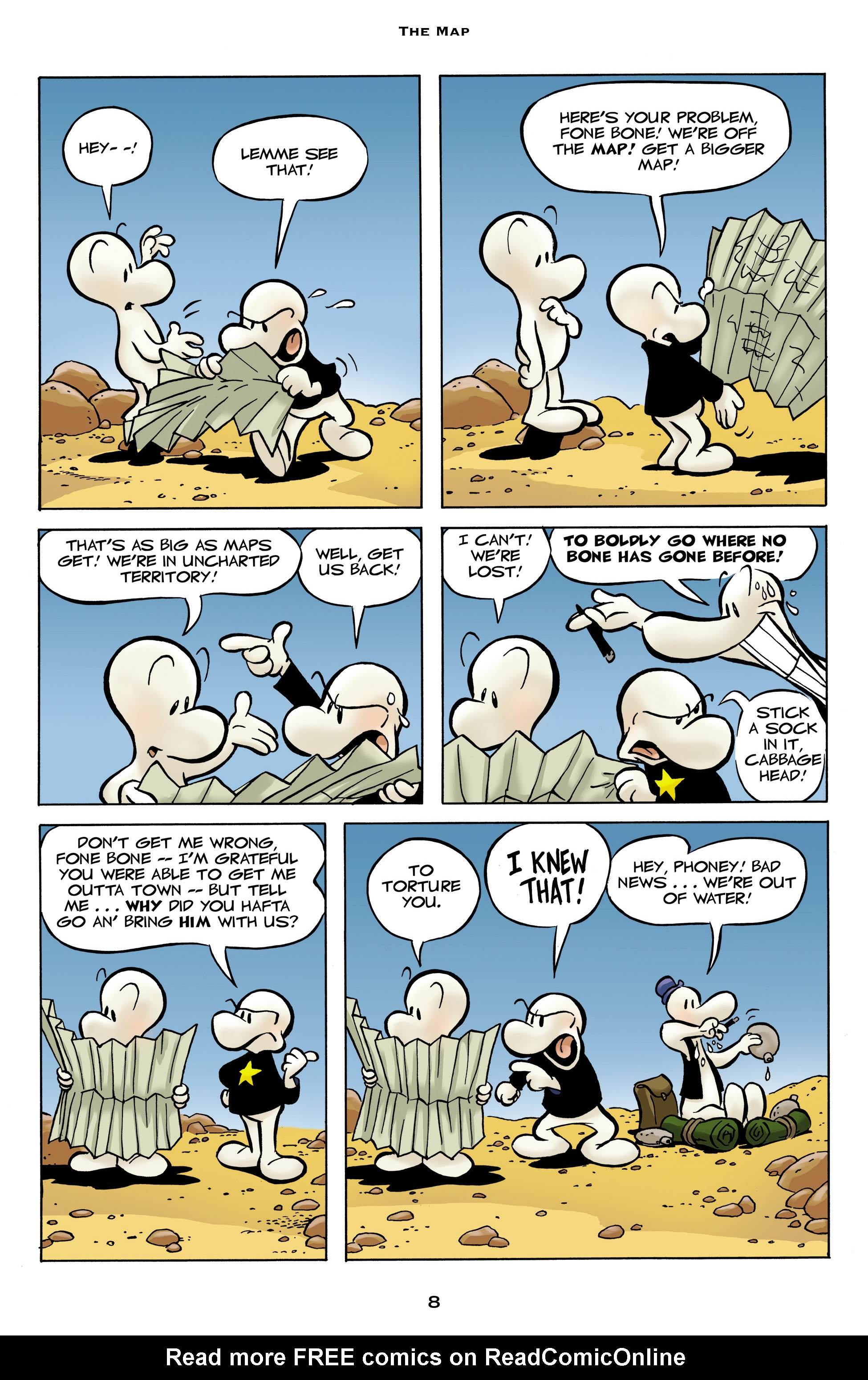 Read online Bone: Out From Boneville comic -  Issue # TPB - 8