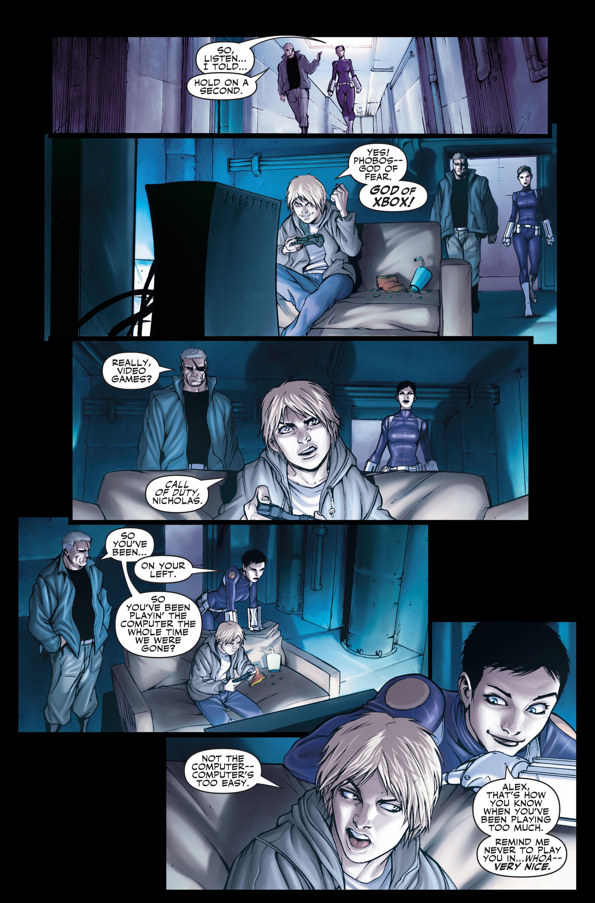 Read online Secret Warriors comic -  Issue #1 - 13