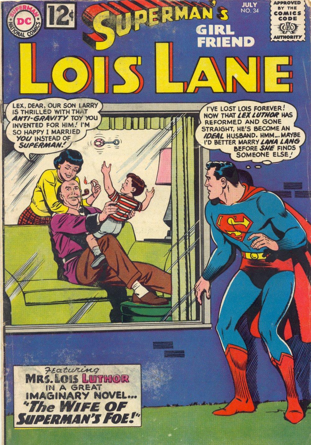 Supermans Girl Friend, Lois Lane 34 Page 1
