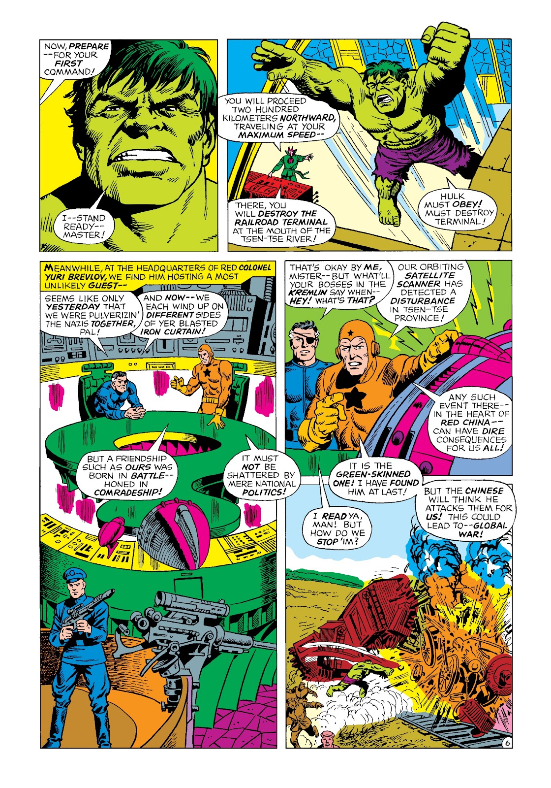 Read online Marvel Masterworks: The Incredible Hulk comic -  Issue # TPB 4 (Part 2) - 18