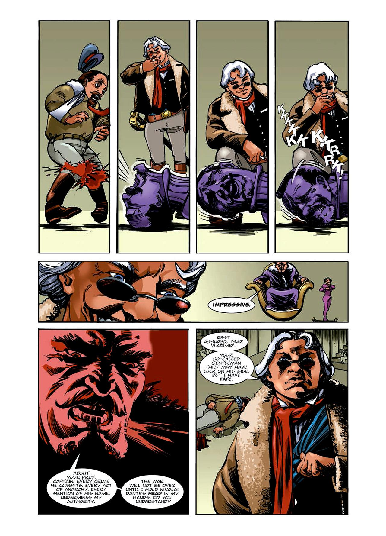 Read online Nikolai Dante comic -  Issue # TPB 6 - 40