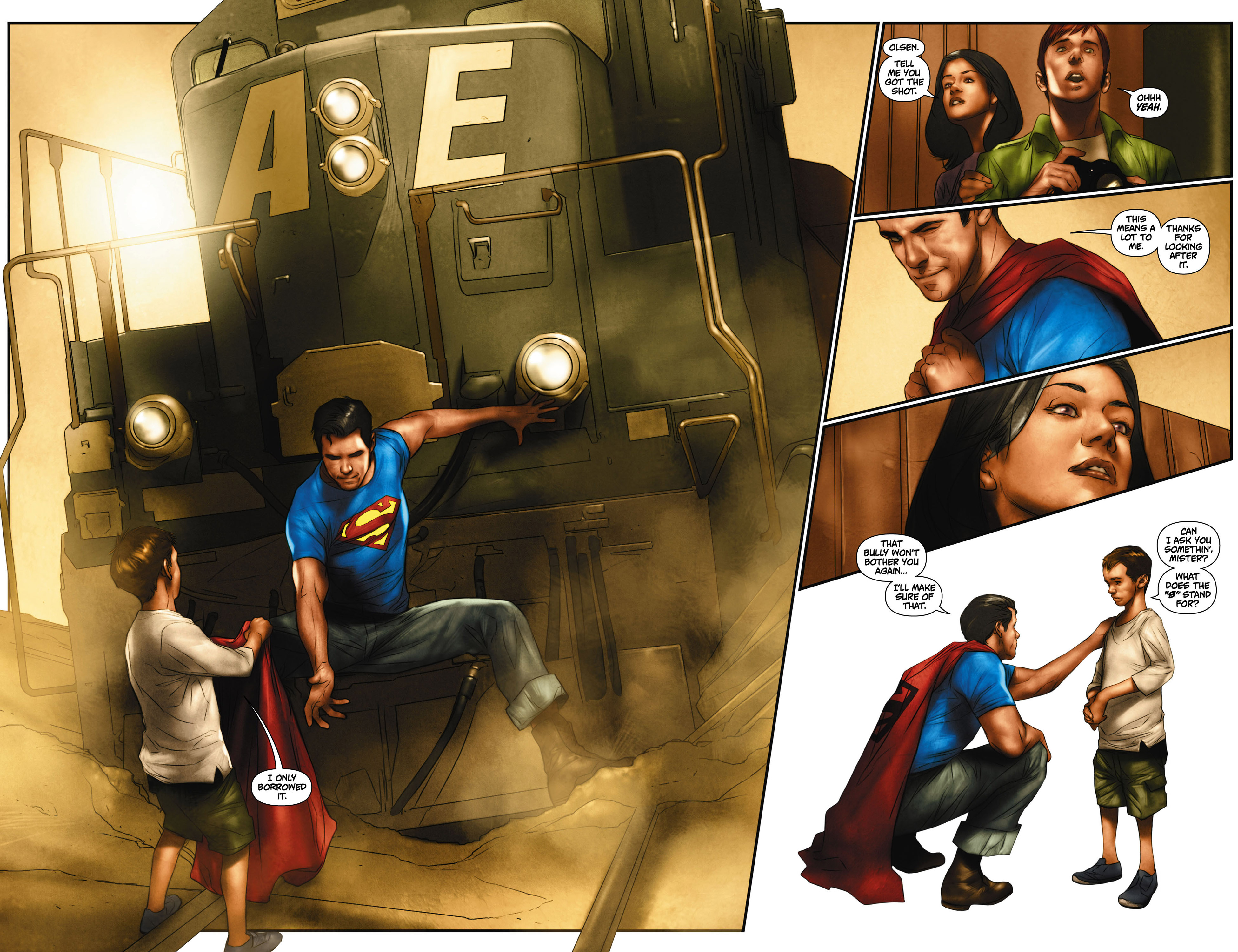 Read online Action Comics (2011) comic -  Issue #0 - 20