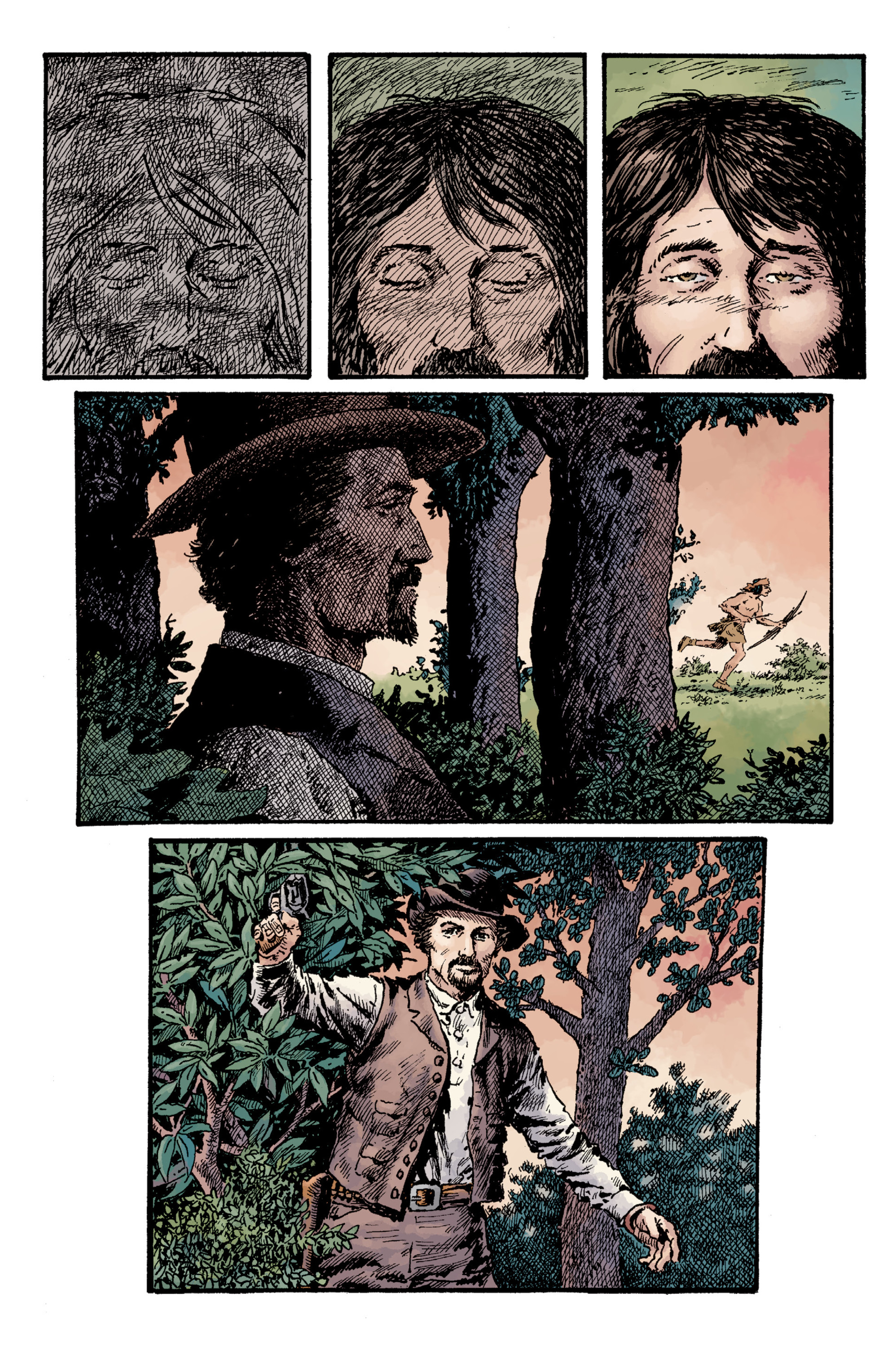 Read online Sir Edward Grey, Witchfinder: Lost and Gone Forever comic -  Issue # TPB - 109
