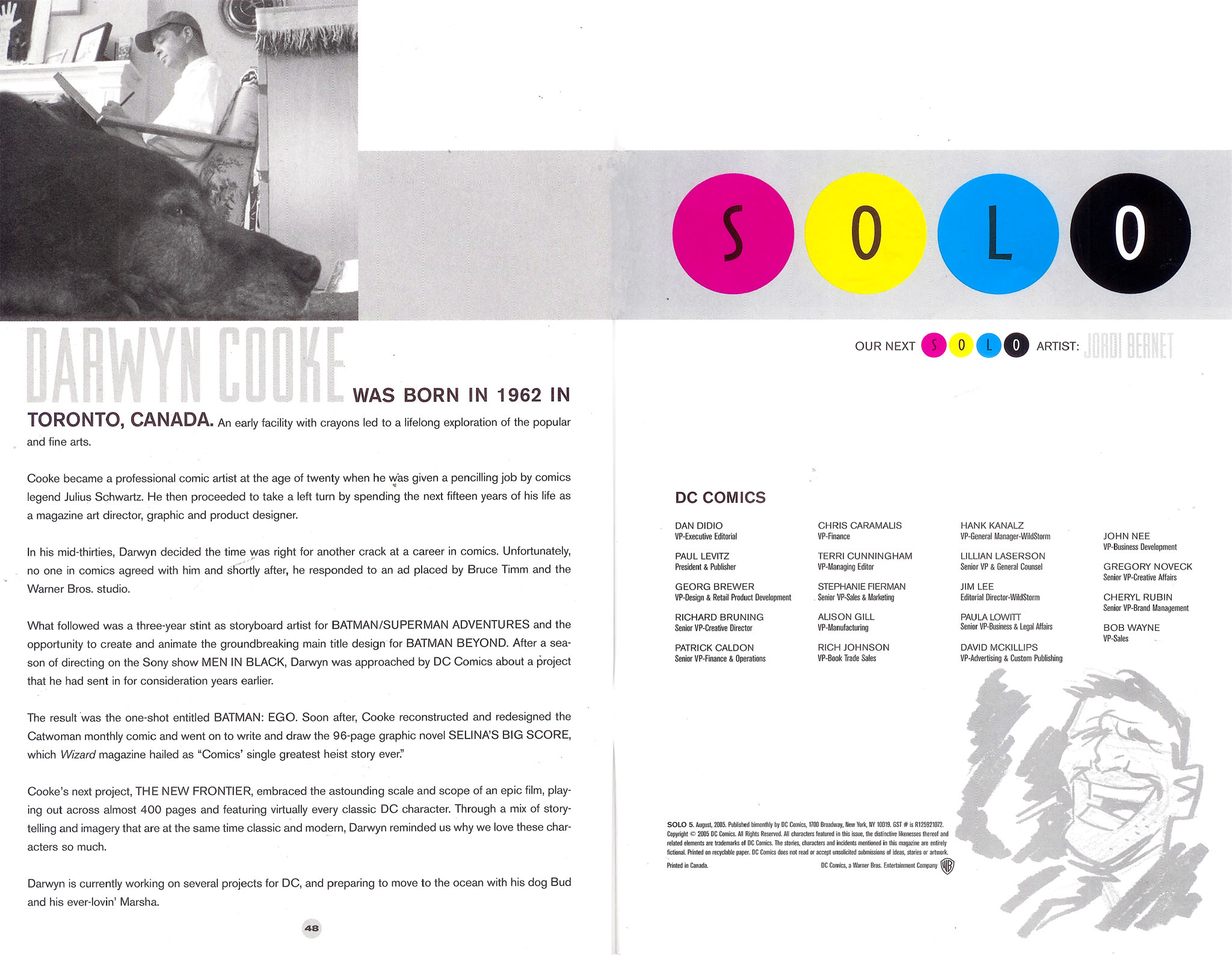 Read online Solo (2004) comic -  Issue #5 - 47