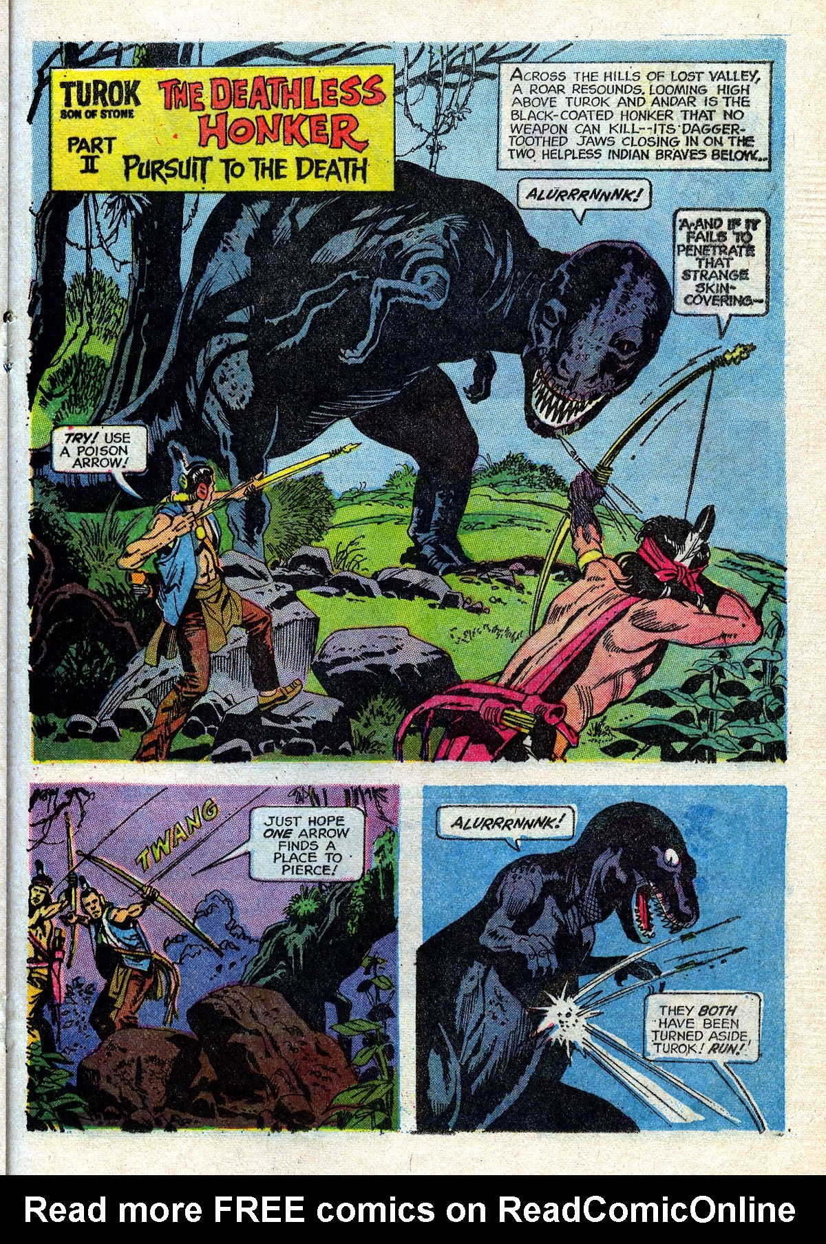 Read online Turok, Son of Stone comic -  Issue #72 - 21