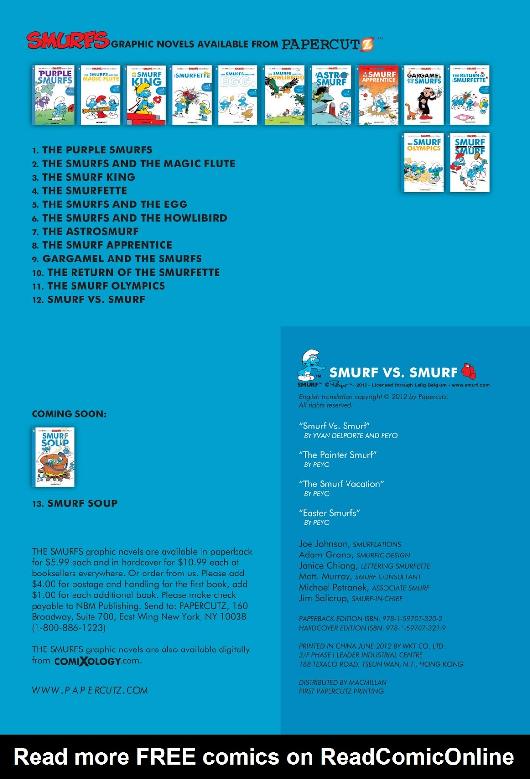 Read online The Smurfs comic -  Issue #12 - 4