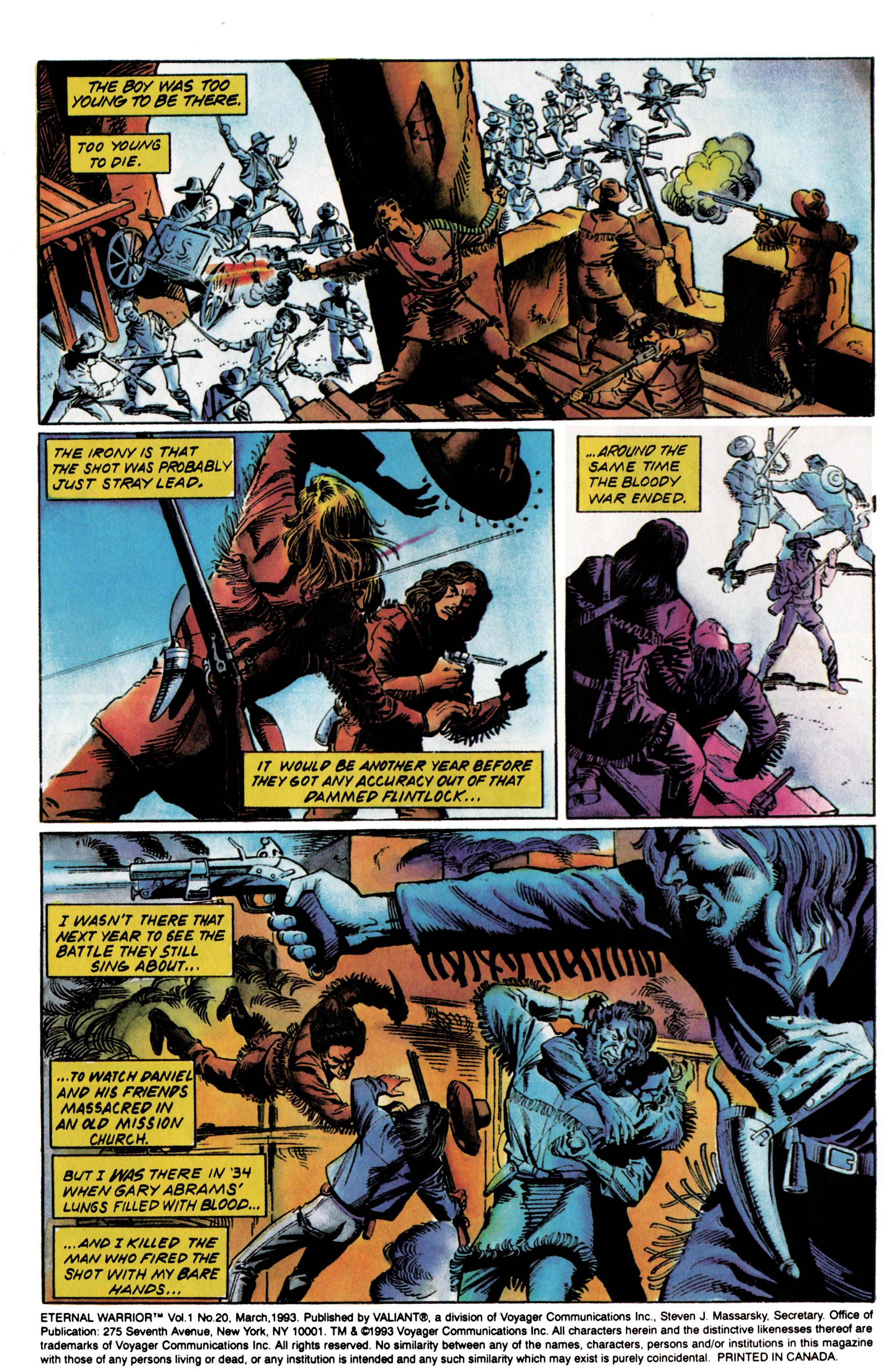 Read online Eternal Warrior (1992) comic -  Issue #20 - 3