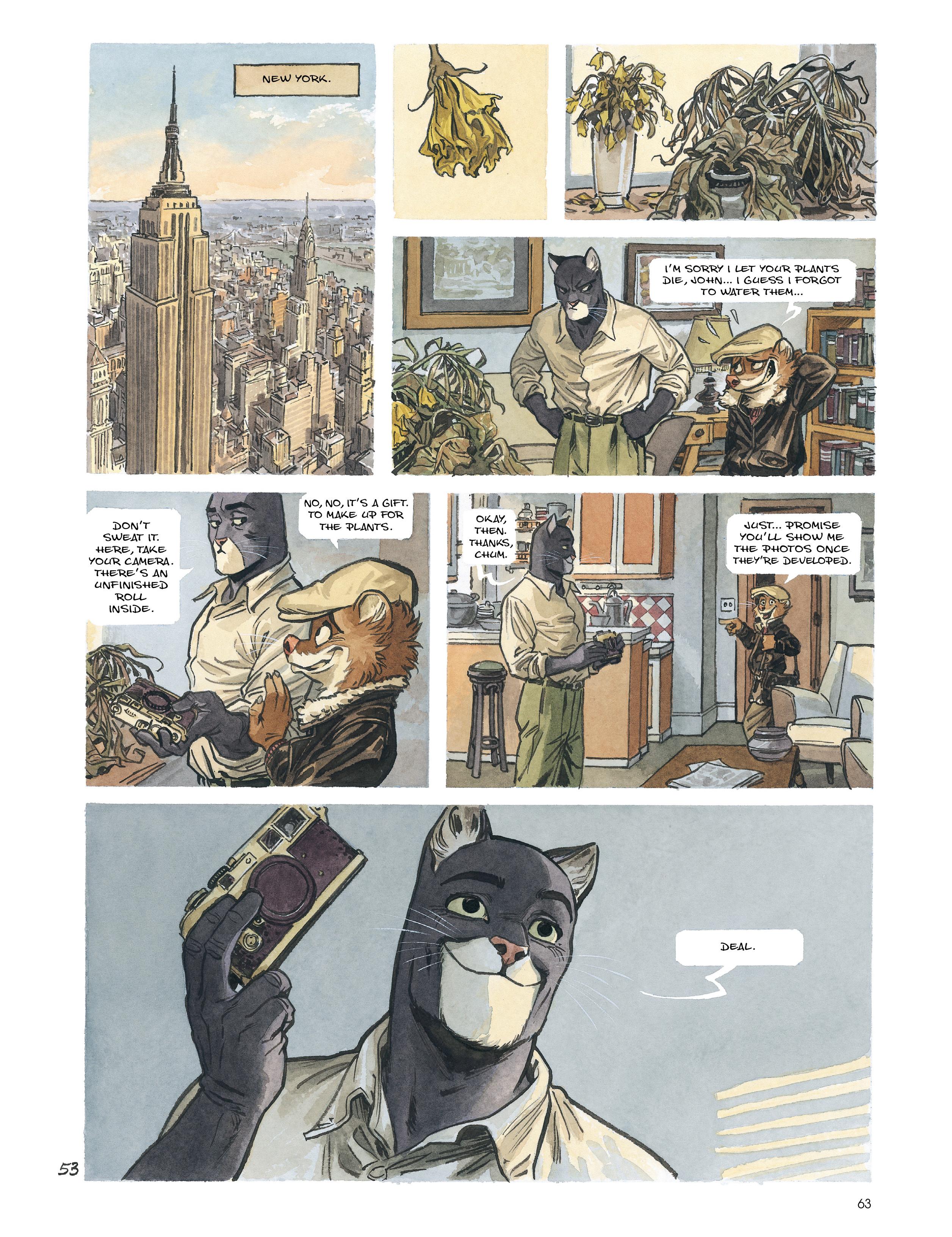Read online Blacksad: Amarillo comic -  Issue # Full - 62