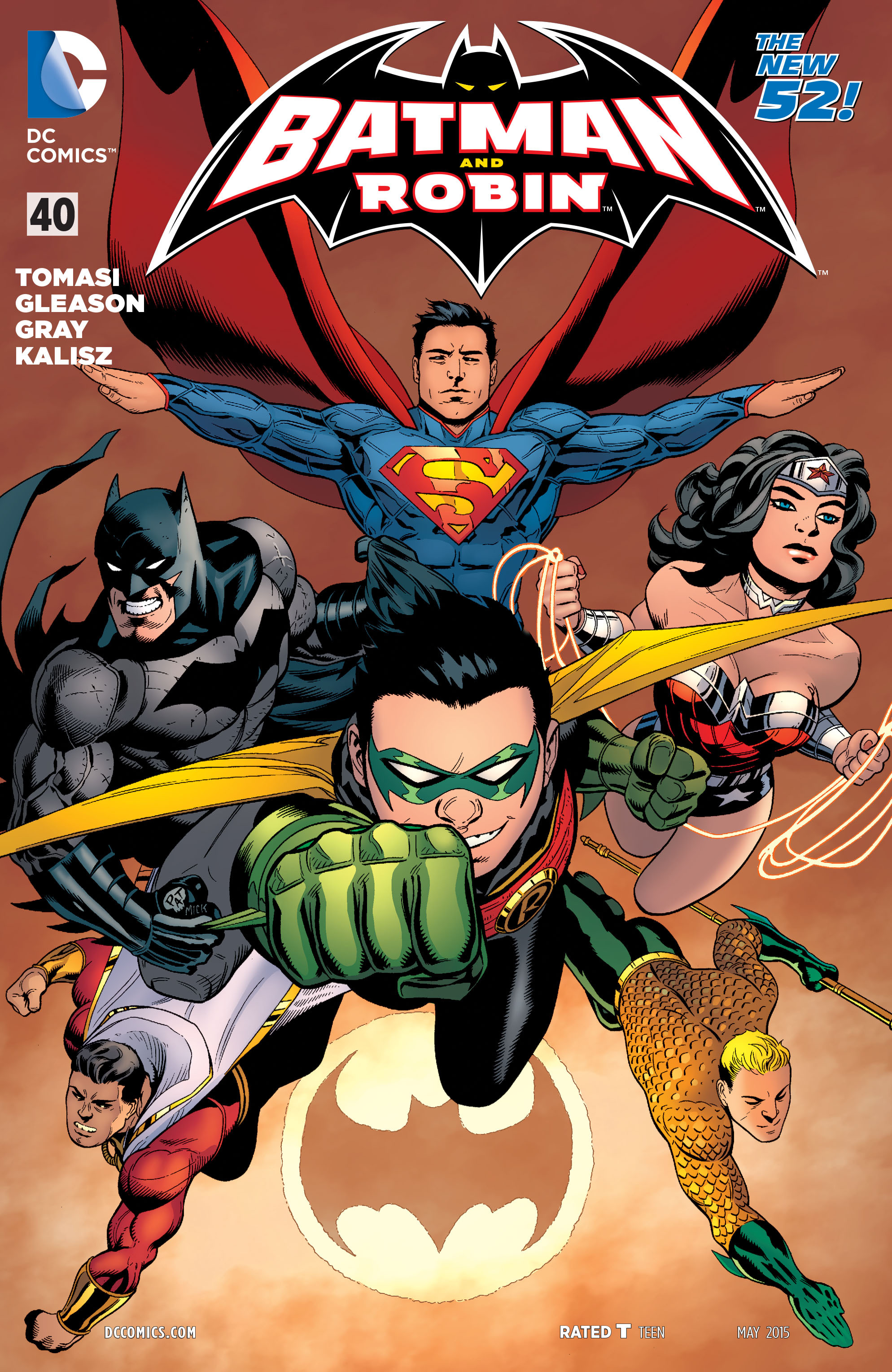 Read online Batman and Robin (2011) comic -  Issue #40 - 1