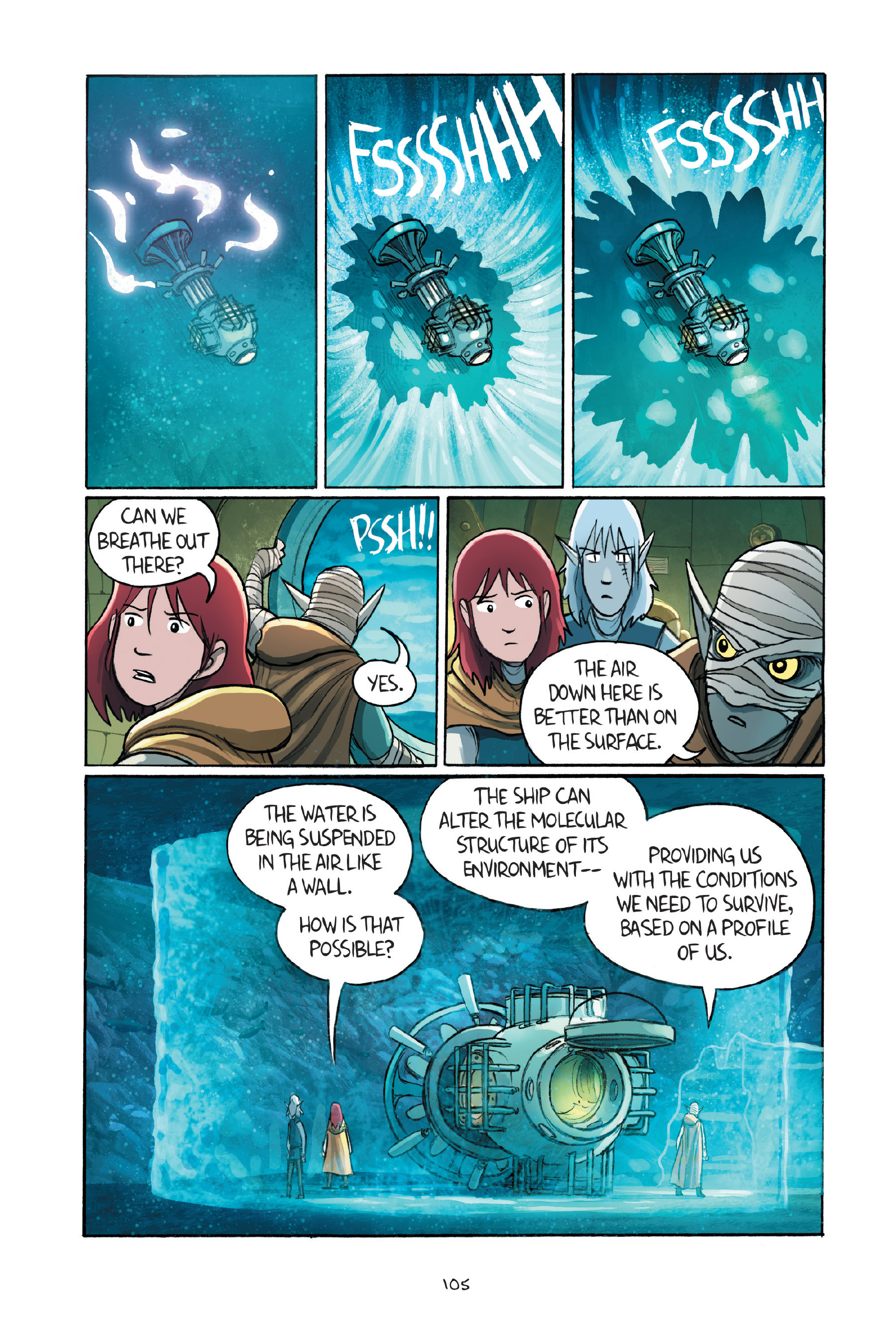 Read online Amulet comic -  Issue #7 - 105