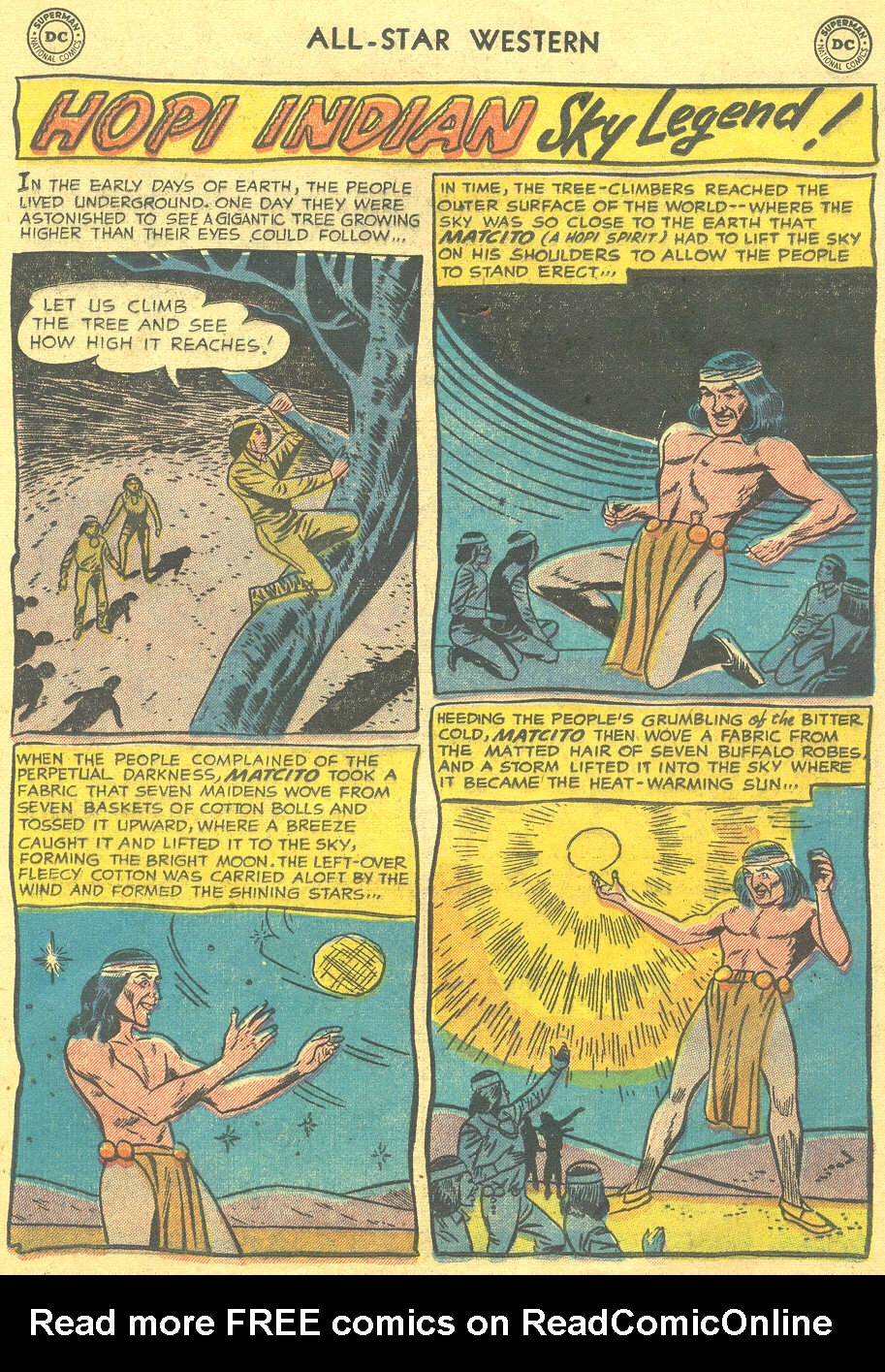 Read online All-Star Western (1951) comic -  Issue #88 - 17