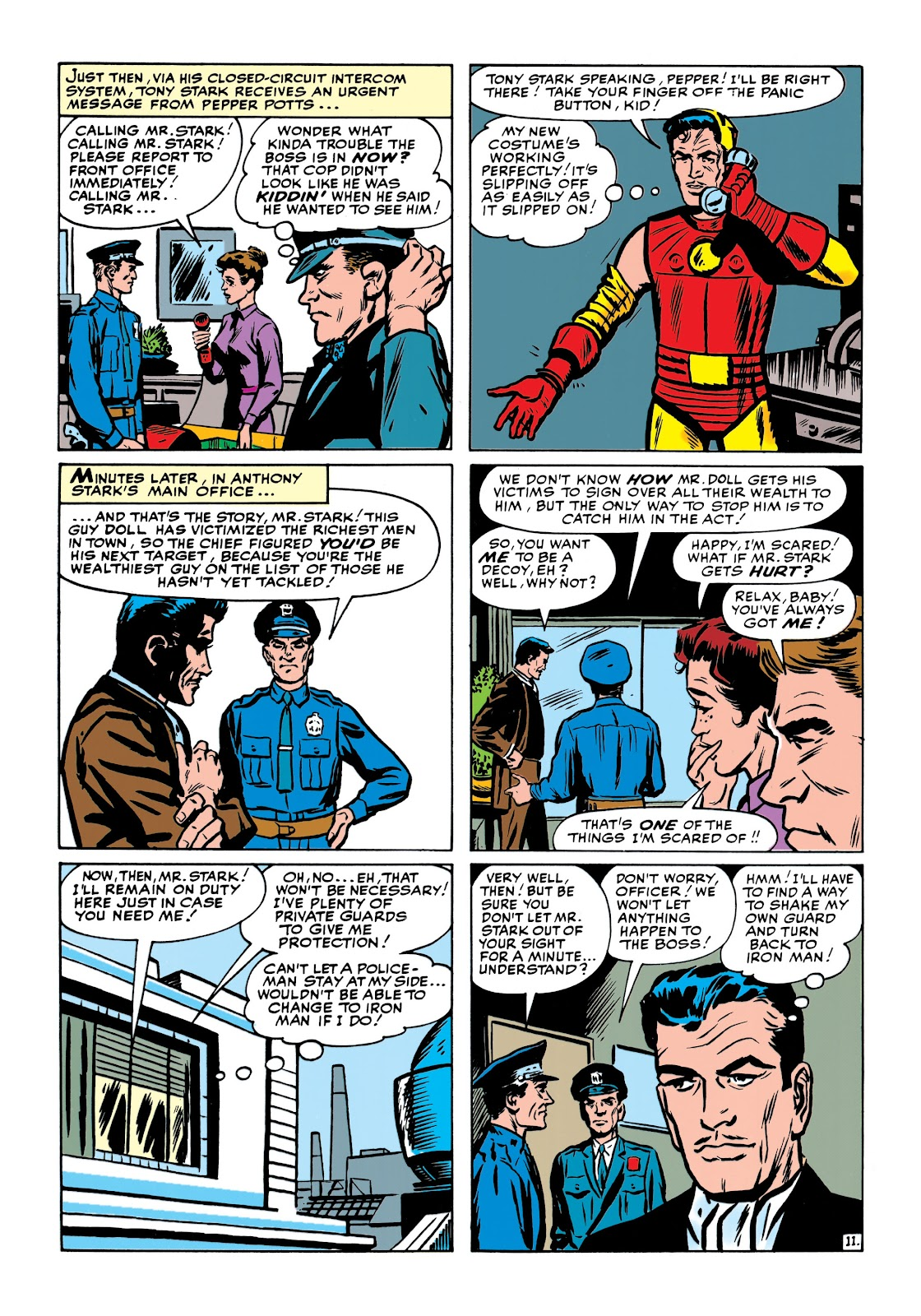 Read online Marvel Masterworks: The Invincible Iron Man comic -  Issue # TPB 1 (Part 2) - 50