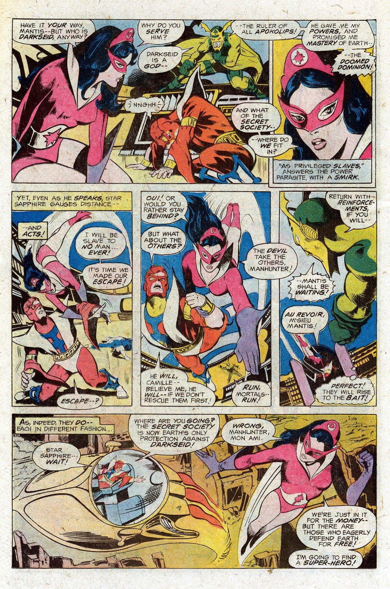 Read online Secret Society of Super-Villains comic -  Issue #3 - 9