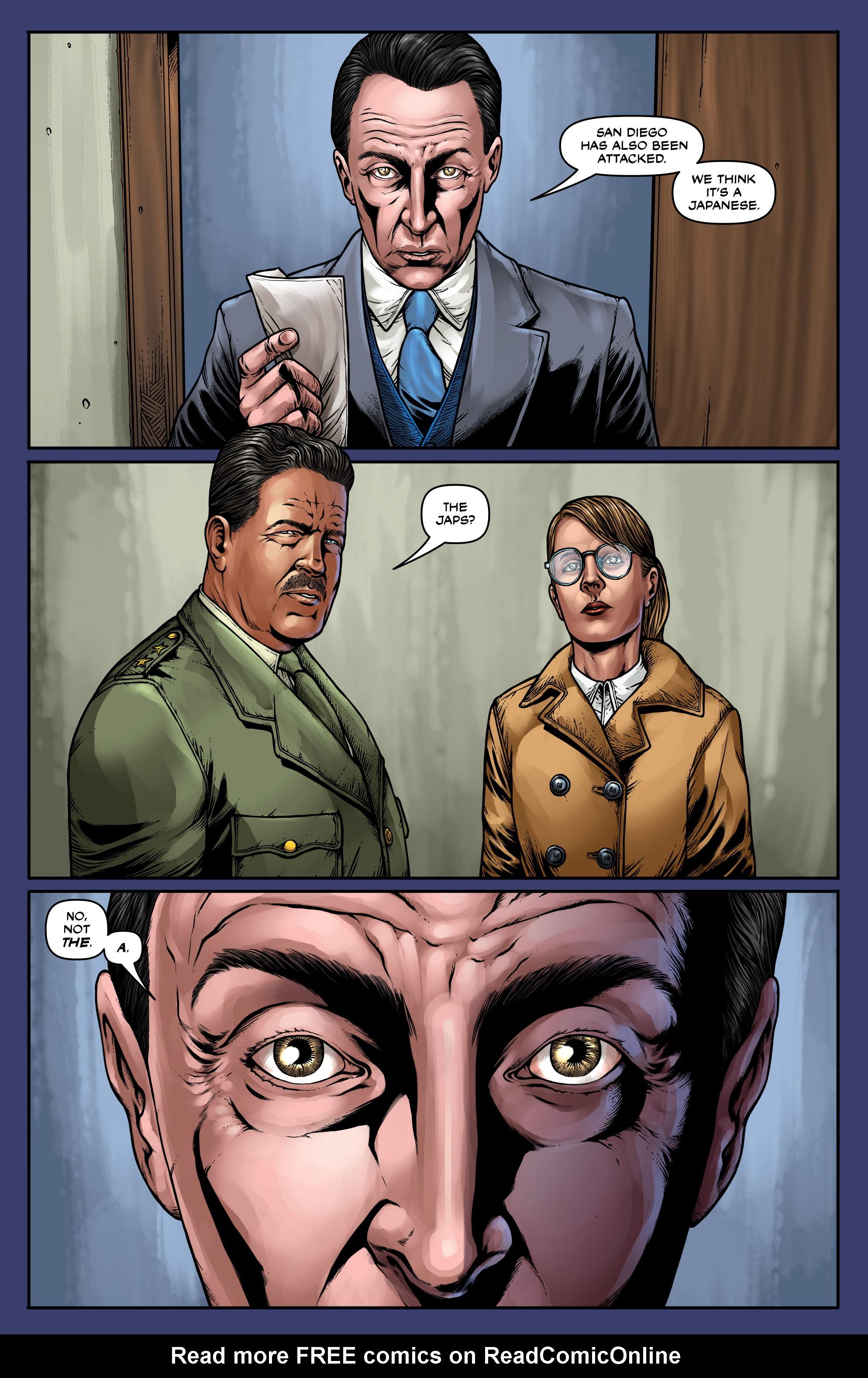 Read online Uber: Invasion comic -  Issue #5 - 23