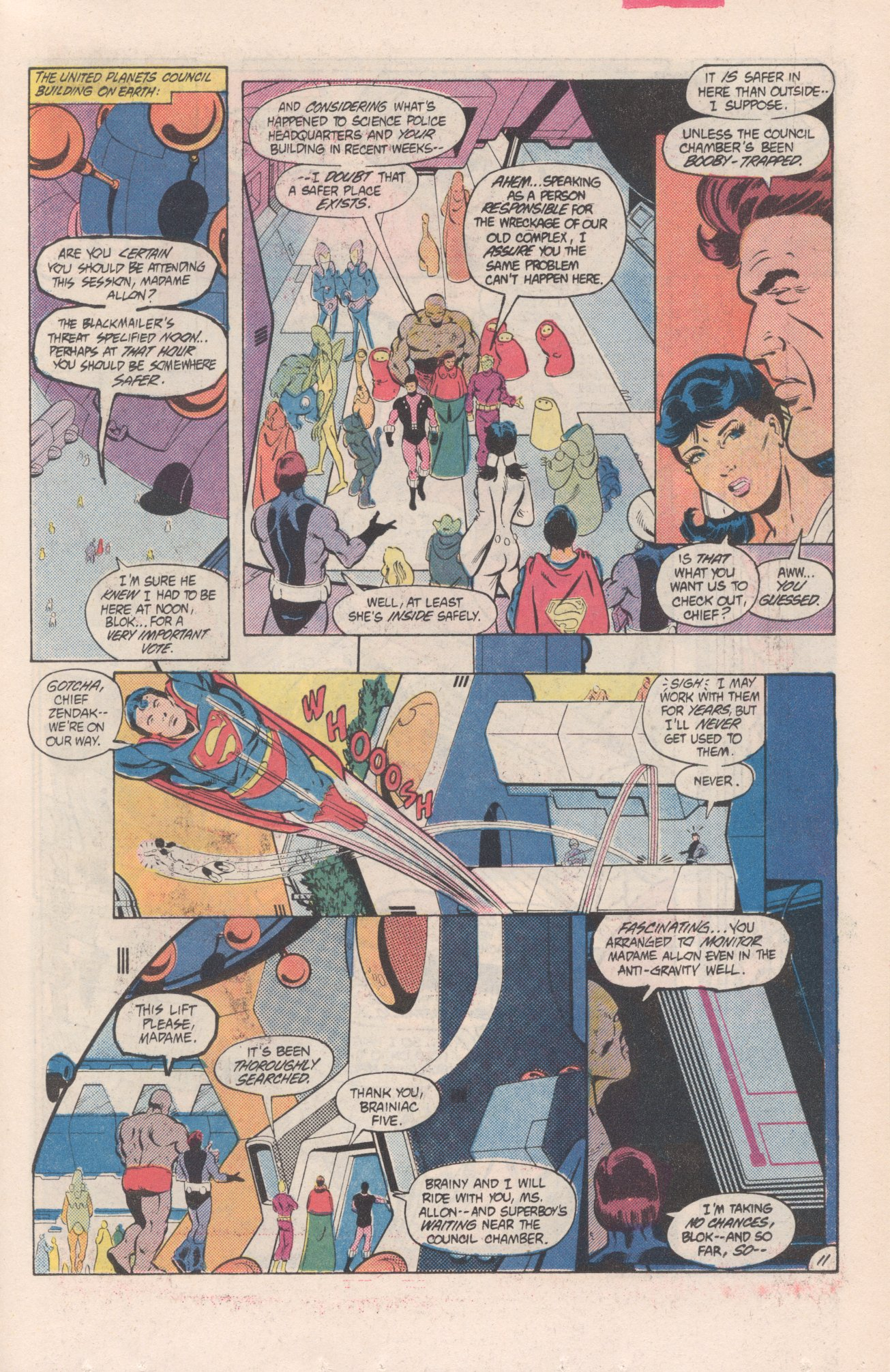 Legion of Super-Heroes (1980) 313 Page 11