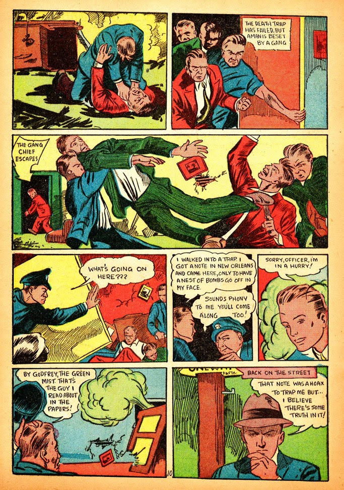 Read online Amazing Man Comics comic -  Issue #12 - 12